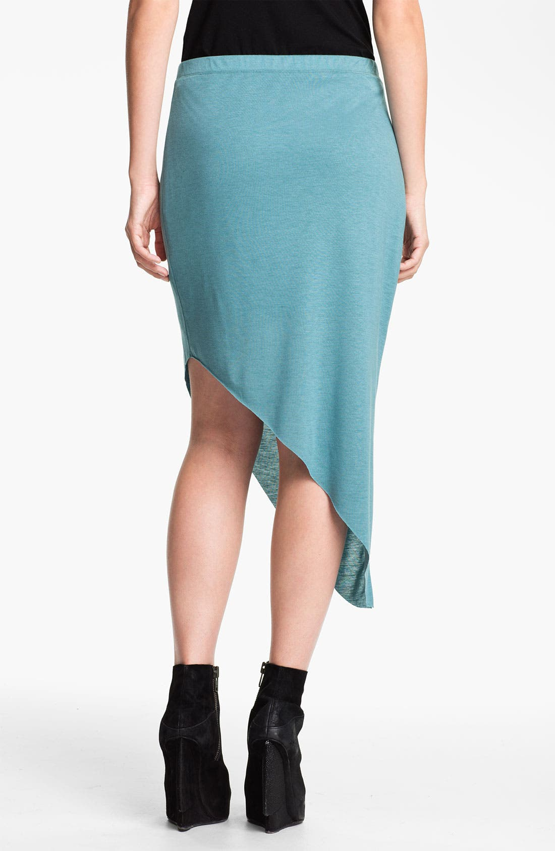 Alternate Image 2  - HELMUT Helmut Lang 'Kinetic' Angled Jersey Skirt