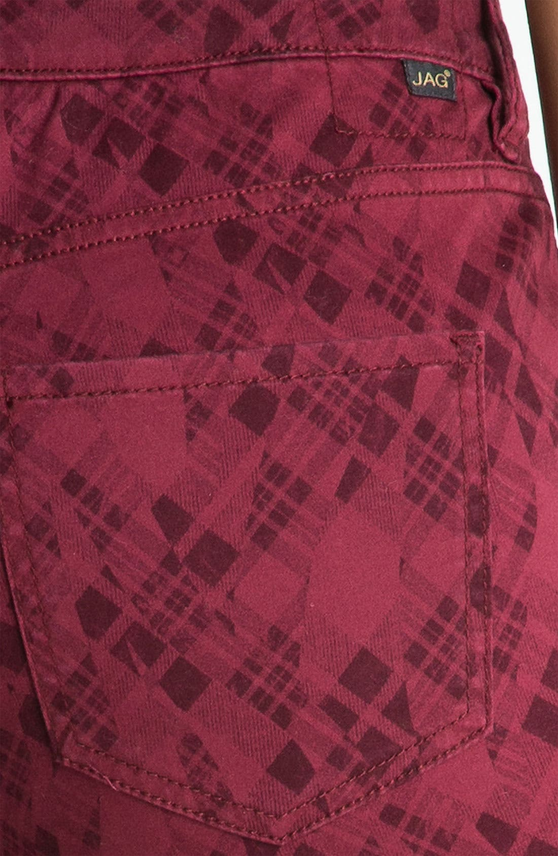 Alternate Image 3  - Jag Jeans 'Chloe - Kingston Plaid' Skinny Jeans (Online Exclusive)