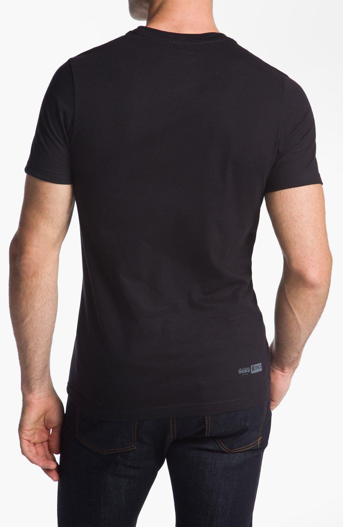 Alternate Image 2  - Hurley 'Star Skull' Graphic T-Shirt