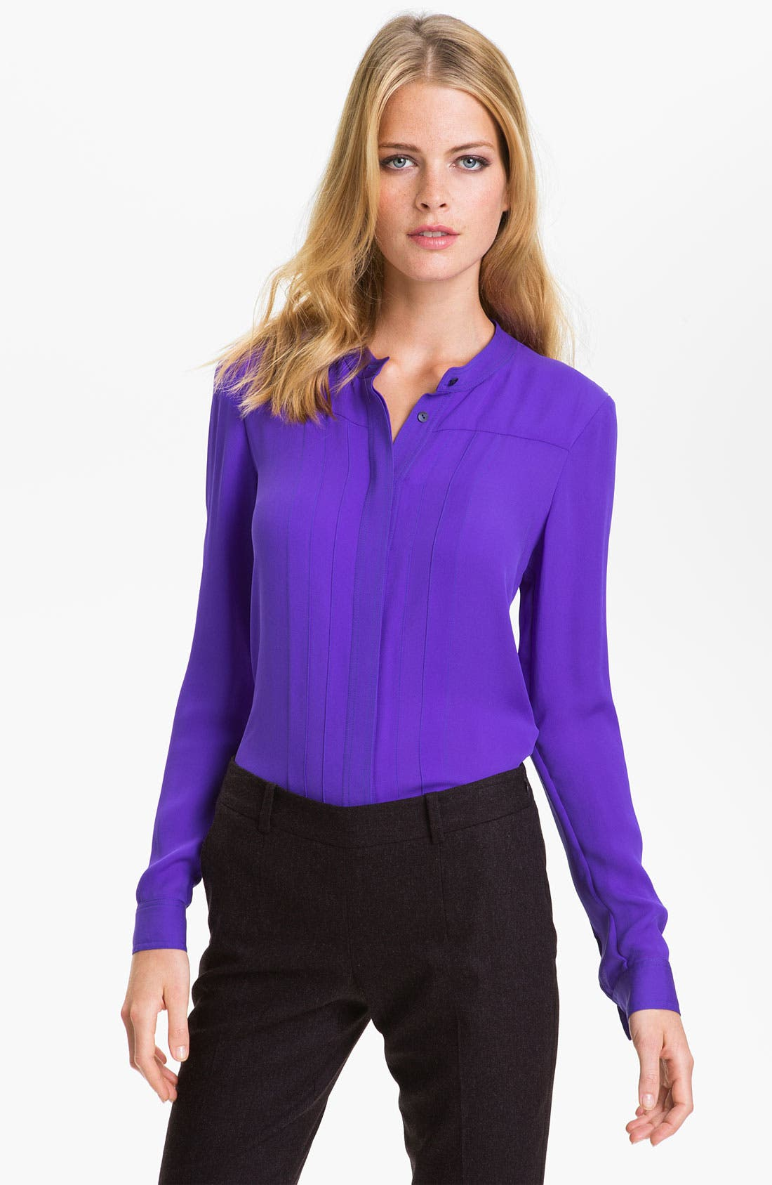 Alternate Image 1 Selected - Theory 'Tharady' Silk Blouse