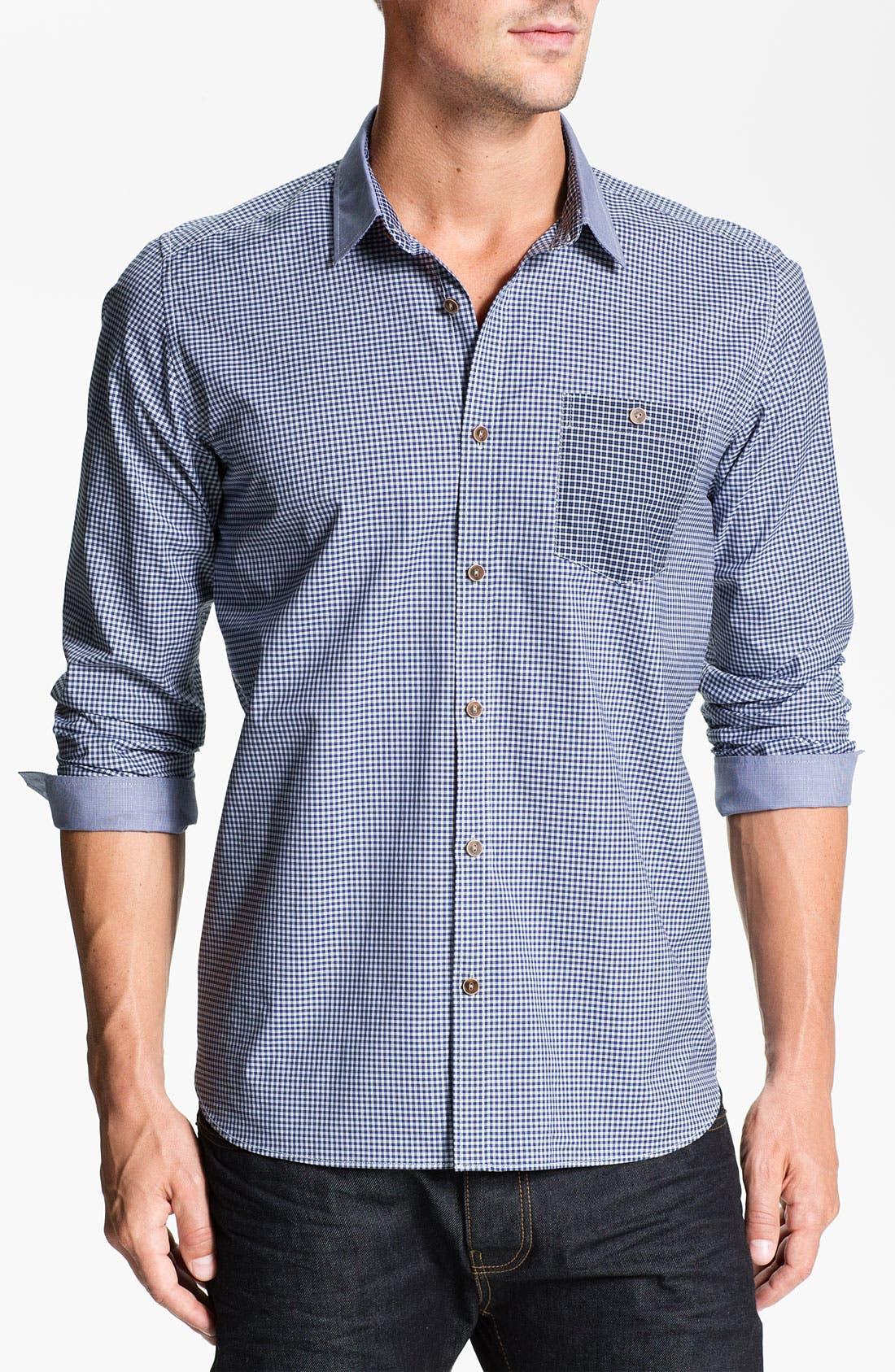 Alternate Image 1 Selected - Ted Baker London 'Livalot' Sport Shirt