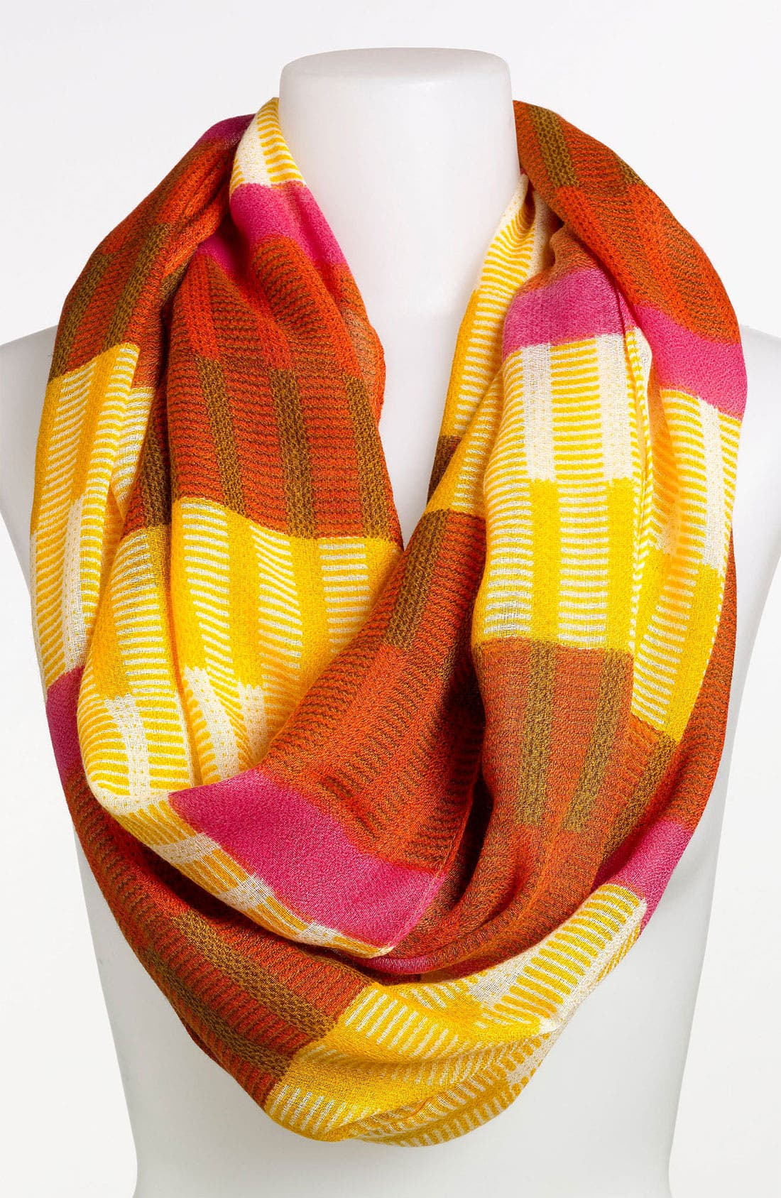 Alternate Image 1 Selected - Echo 'Bright Woven Stripe' Infinity Scarf