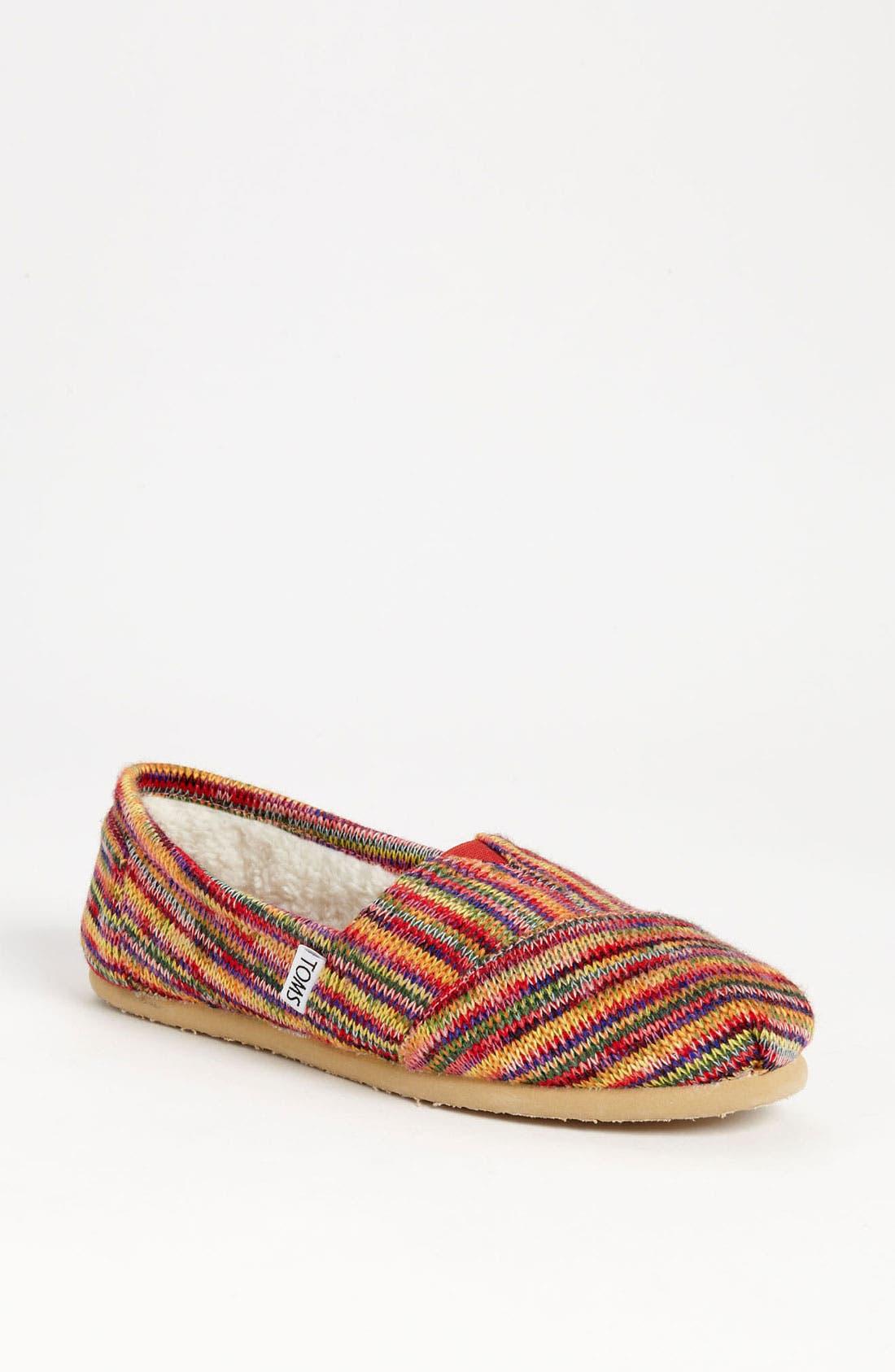 Main Image - TOMS 'Classic' Knit Slip-On (Women)