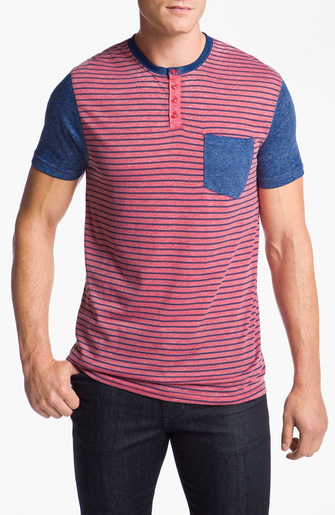 Alternate Image 1 Selected - Volcom 'William' Henley T-Shirt