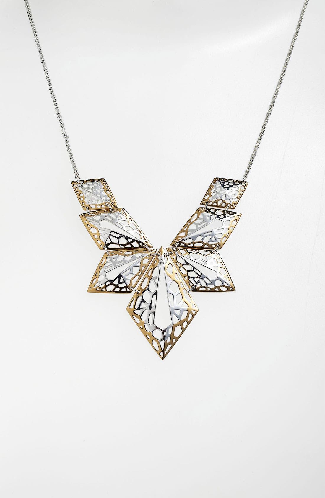 Alternate Image 1 Selected - Argento Vivo 'Prism' Geometric Statement Necklace