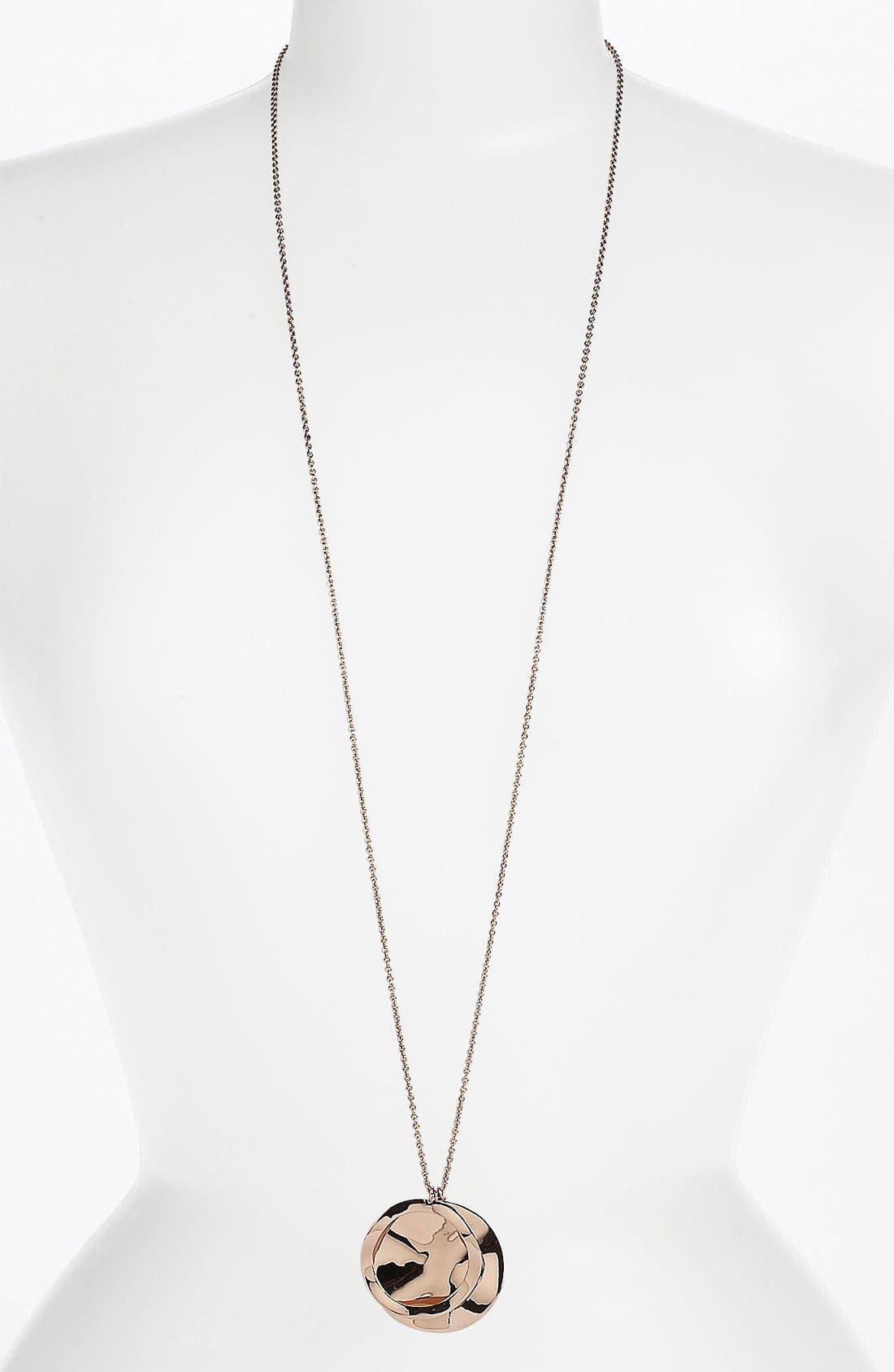 Alternate Image 2  - Ippolita 'Lite Links' Long Triple Charm Rosé Necklace