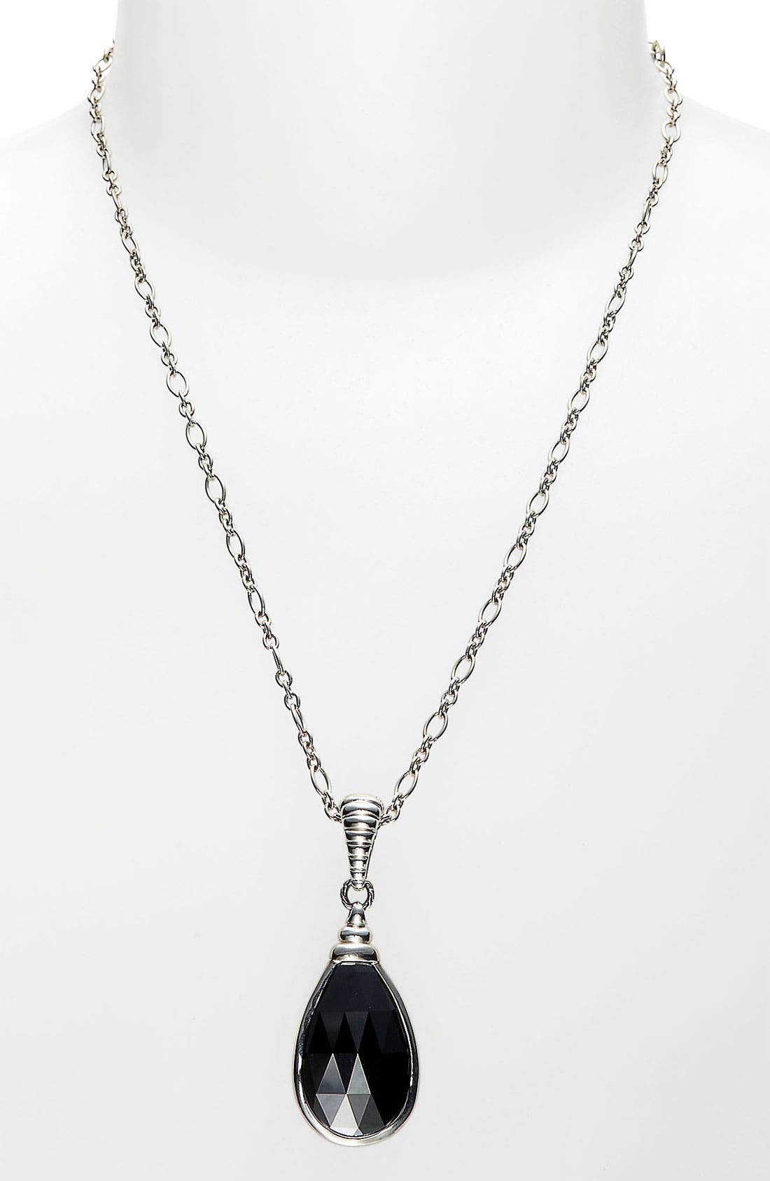 Main Image - John Hardy 'Bedeg' Teardrop Pendant Necklace