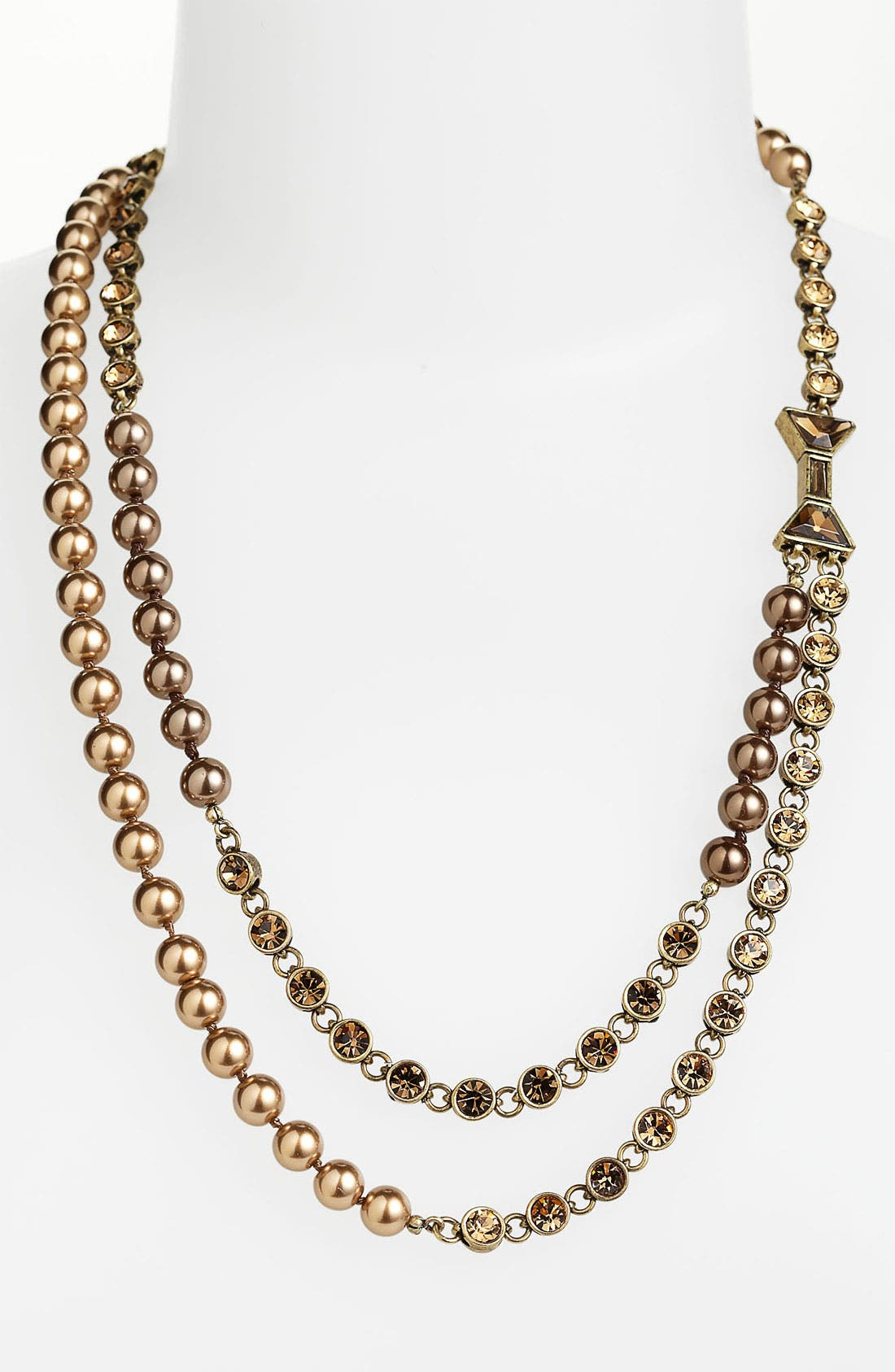 Alternate Image 1 Selected - MARC BY MARC JACOBS 'ID Bow' Double Strand Necklace