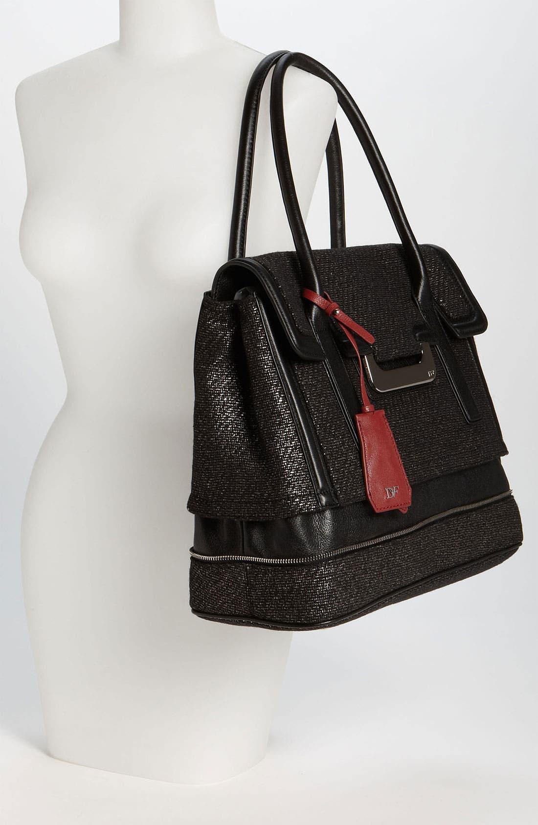 Alternate Image 2  - Diane von Furstenberg 'New Harper - Laurel' Tweed Shoulder Bag
