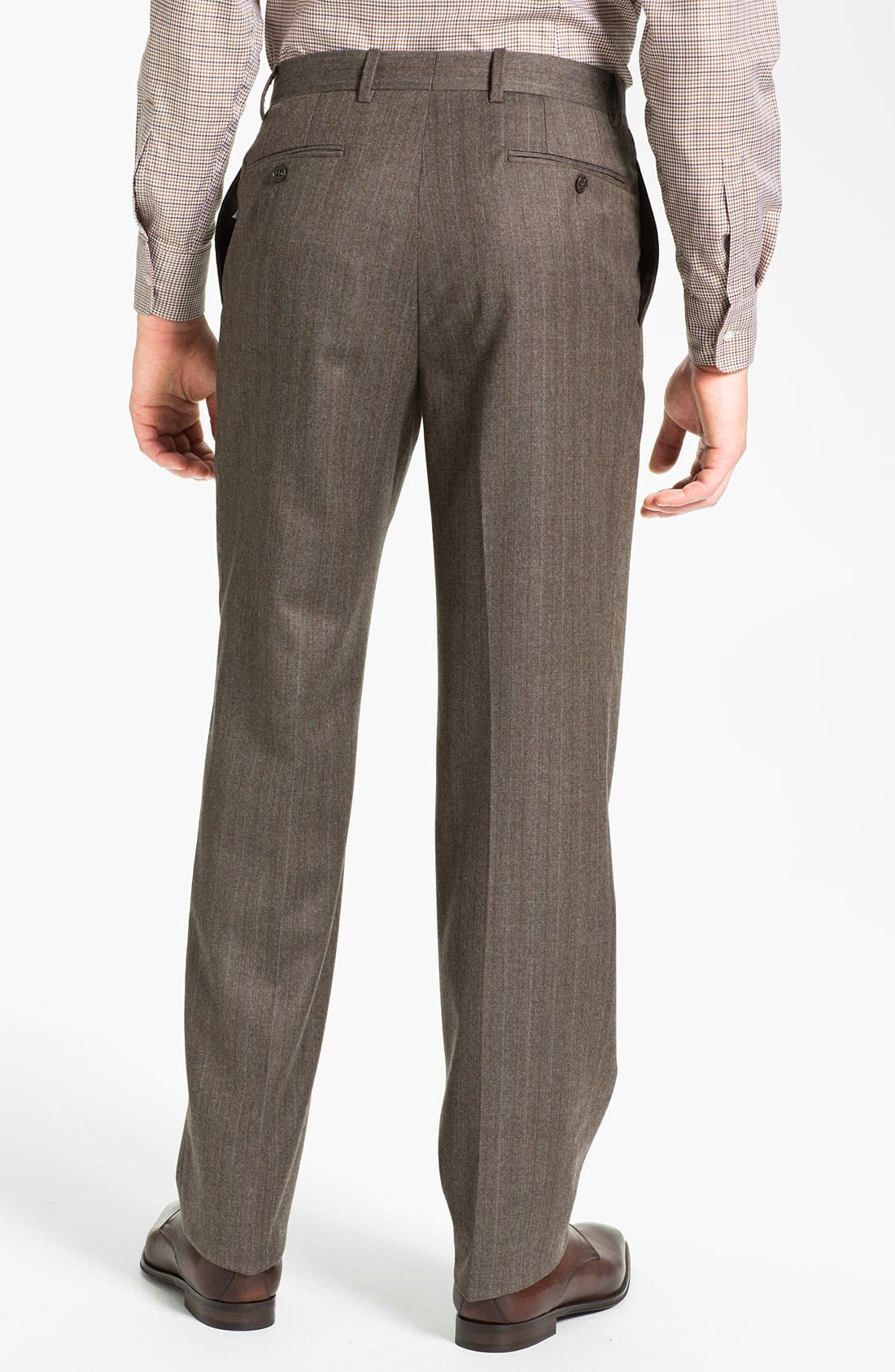 Alternate Image 5  - Joseph Abboud 'Profile' Stripe Wool Suit