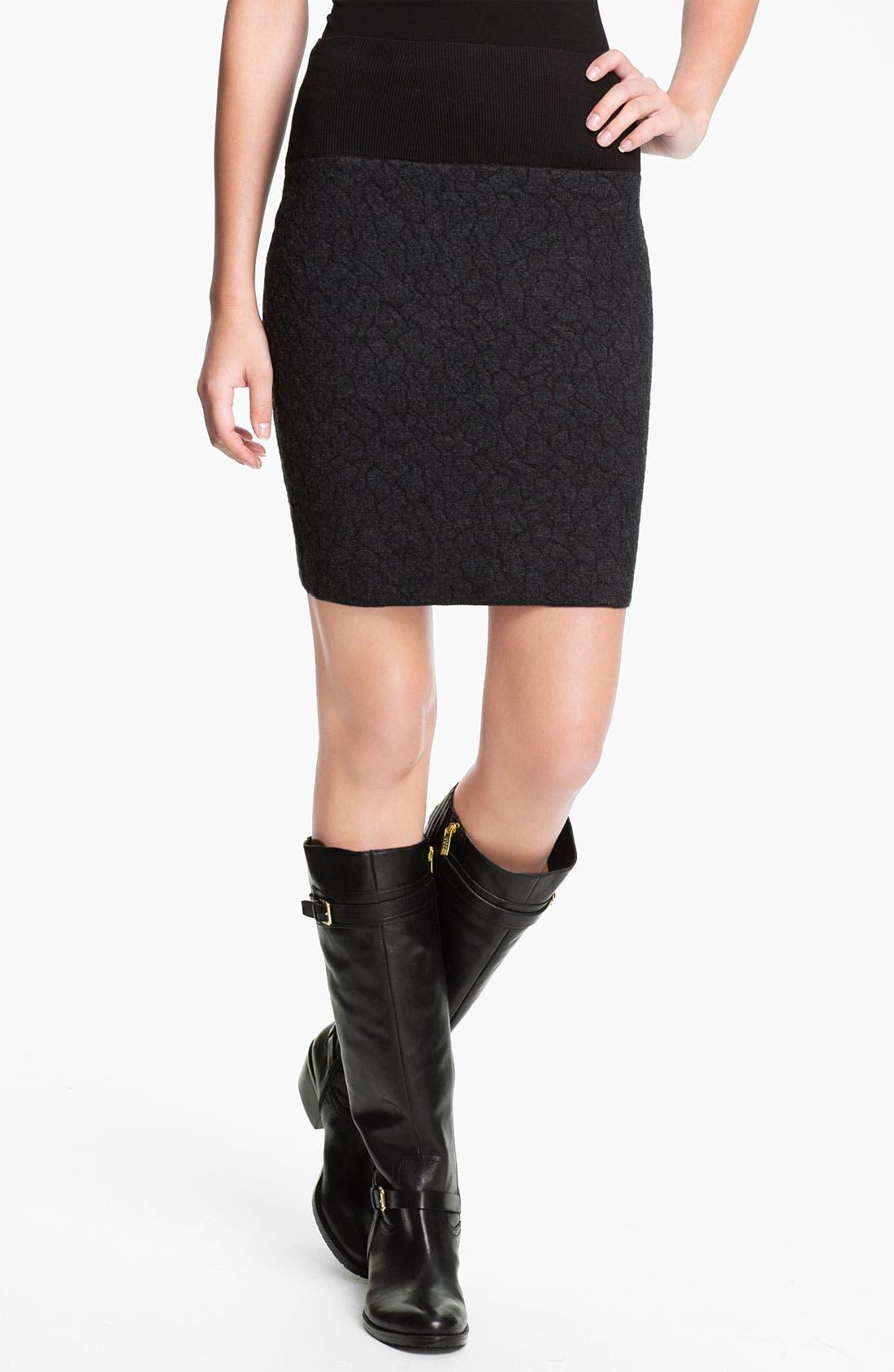 Alternate Image 1 Selected - Eileen Fisher Short Pull-On Skirt