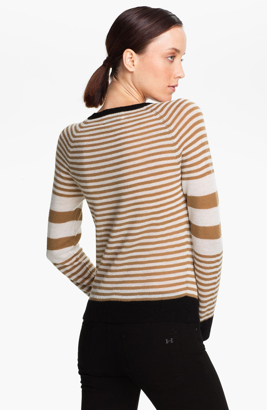 Alternate Image 2  - A.L.C. 'Cayden' Stripe Wool Sweater