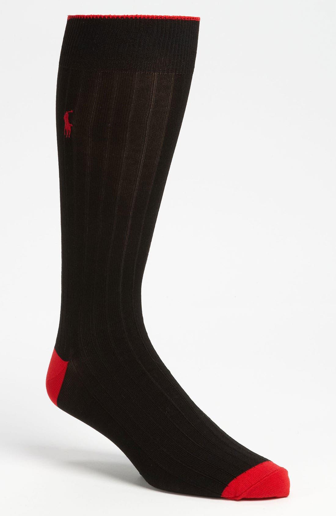 Main Image - Polo Ralph Lauren Cotton Blend Socks