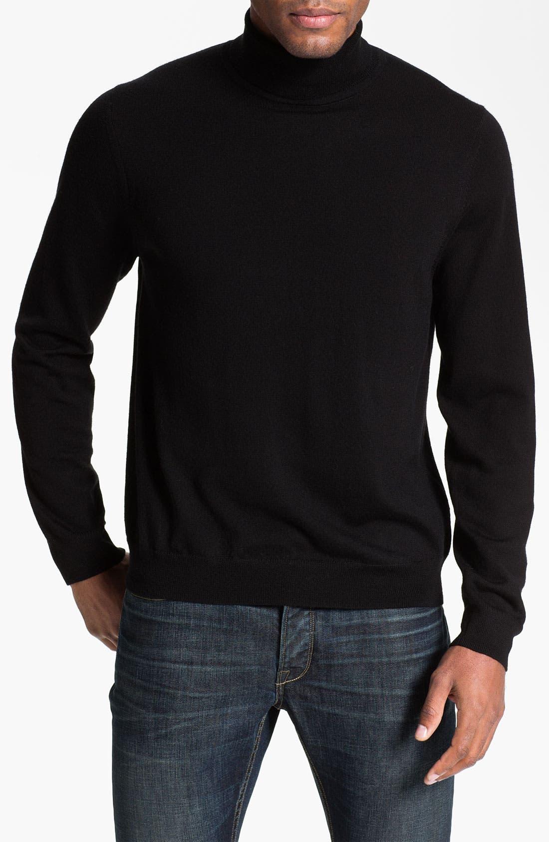 Main Image - Nordstrom Merino Wool Turtleneck