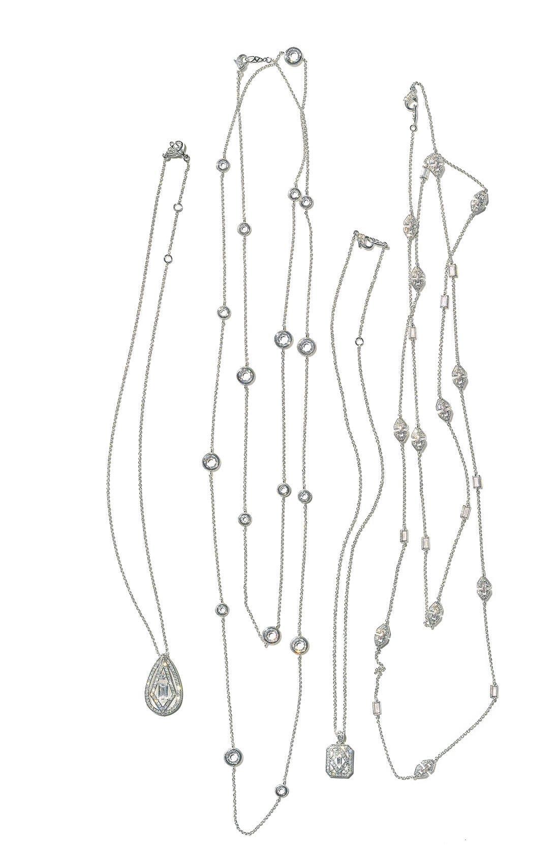 Alternate Image 3  - Nadri 'Art Deco' Long Station Necklace