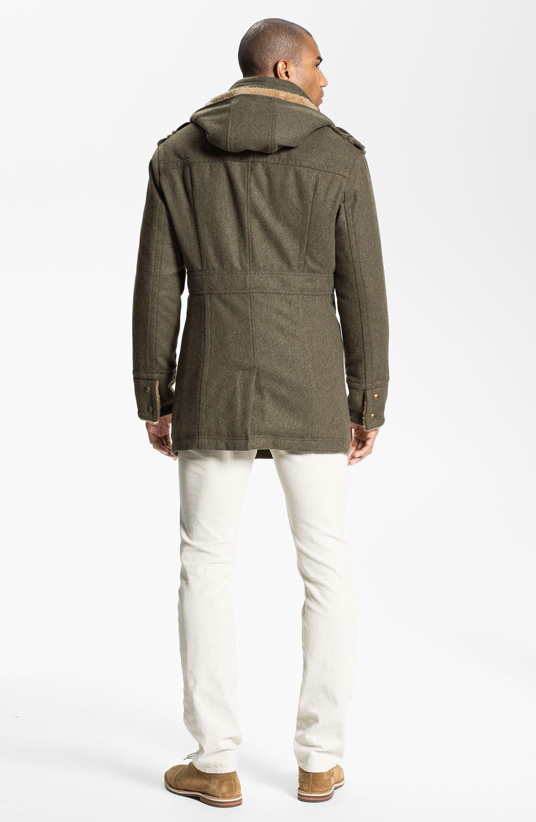 Alternate Image 5  - Fausto Reali Vannucci V-Neck Merino Wool & Cashmere Sweater