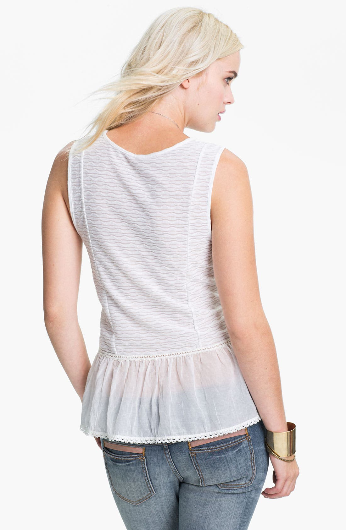 Alternate Image 2  - Free People 'Sweetie Pie' Peplum Top
