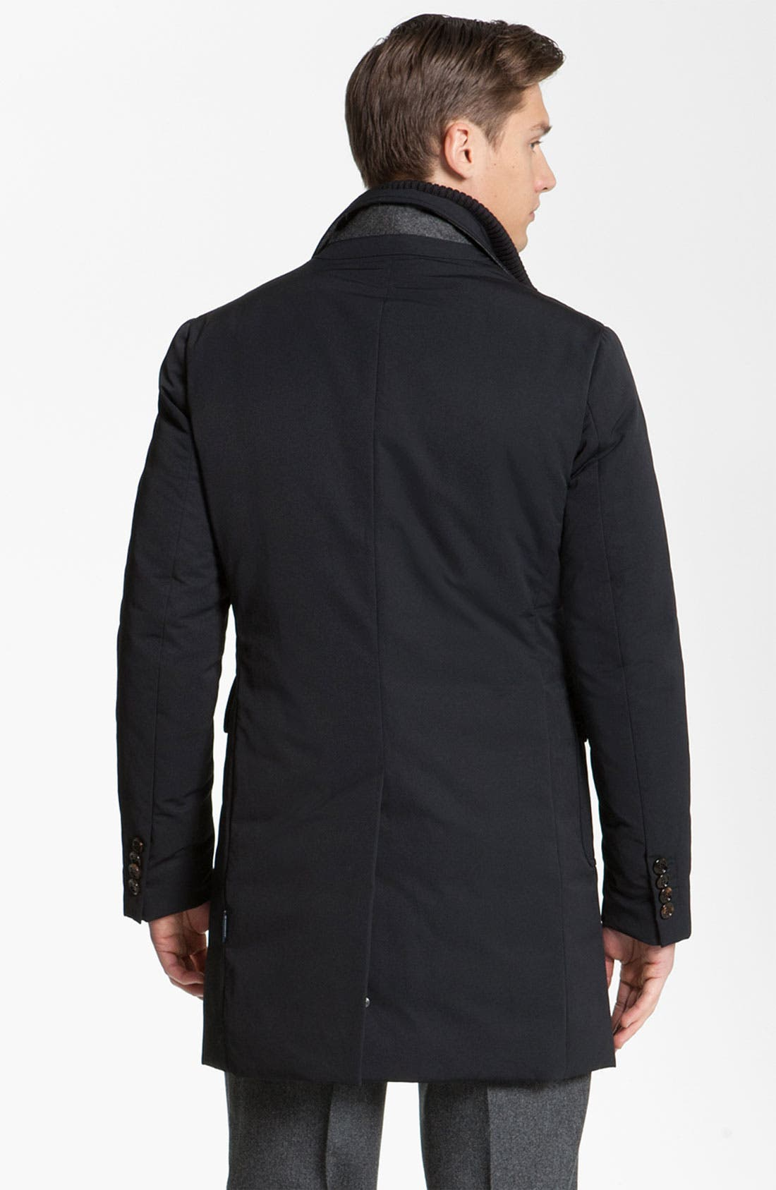 Alternate Image 2  - Moncler 'Grimbert' Trench Coat