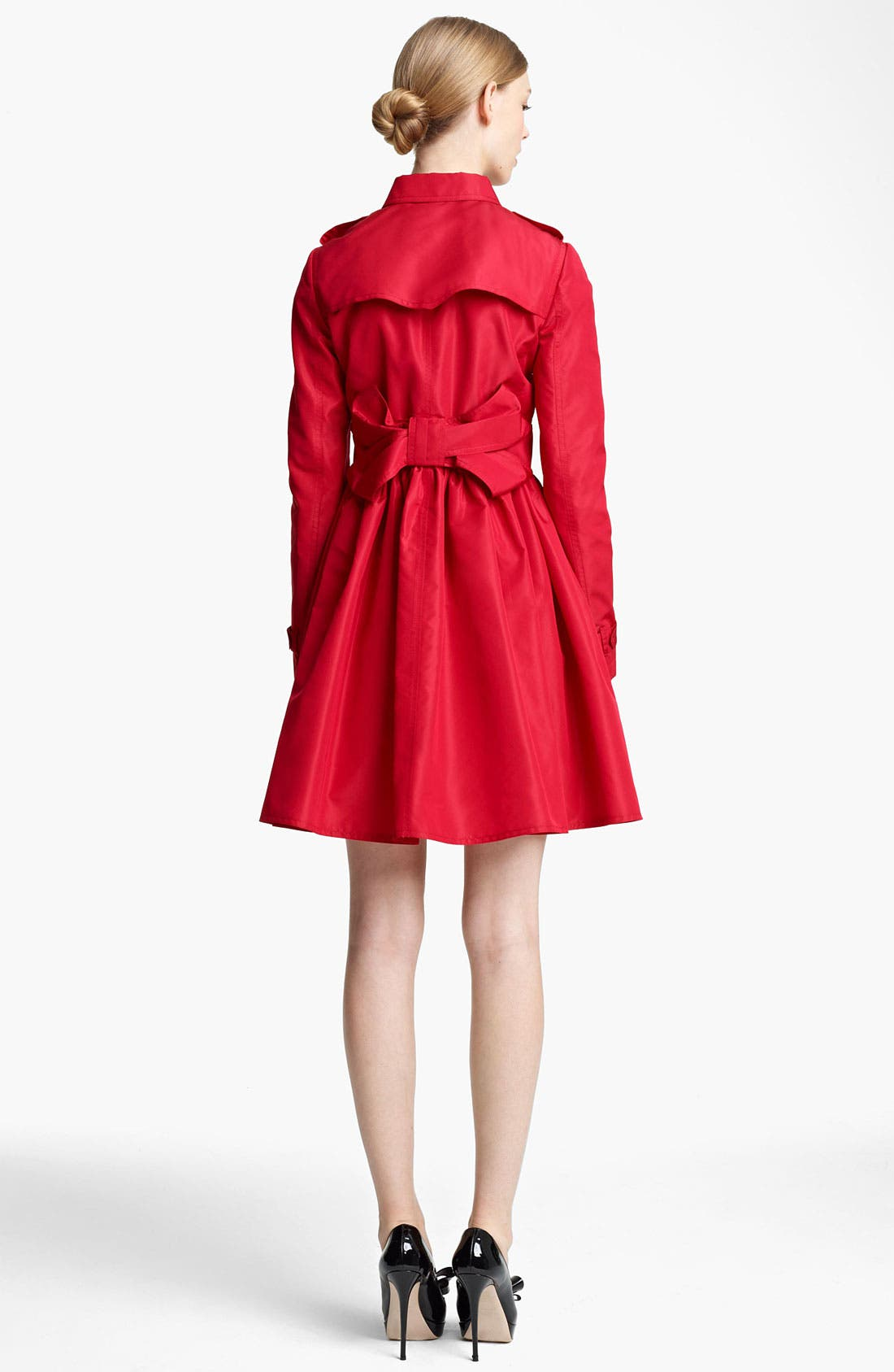 Alternate Image 1 Selected - Valentino Bow Back Trench Coat