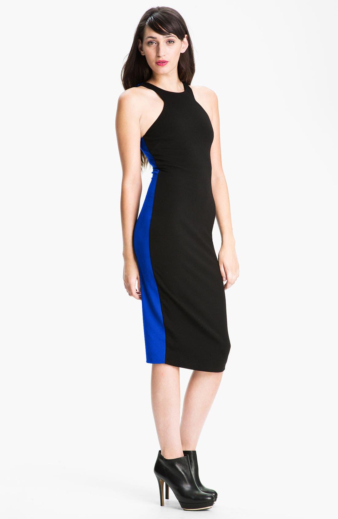 Main Image - Felicity & Coco Colorblock Racerback Sheath Dress (Nordstrom Exclusive)