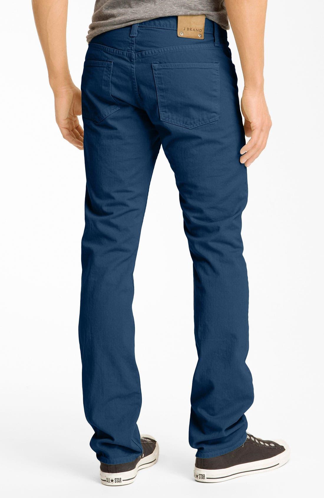 Alternate Image 1 Selected - J Brand 'Kane' Slim Straight Leg Jeans (Crafted Monster)