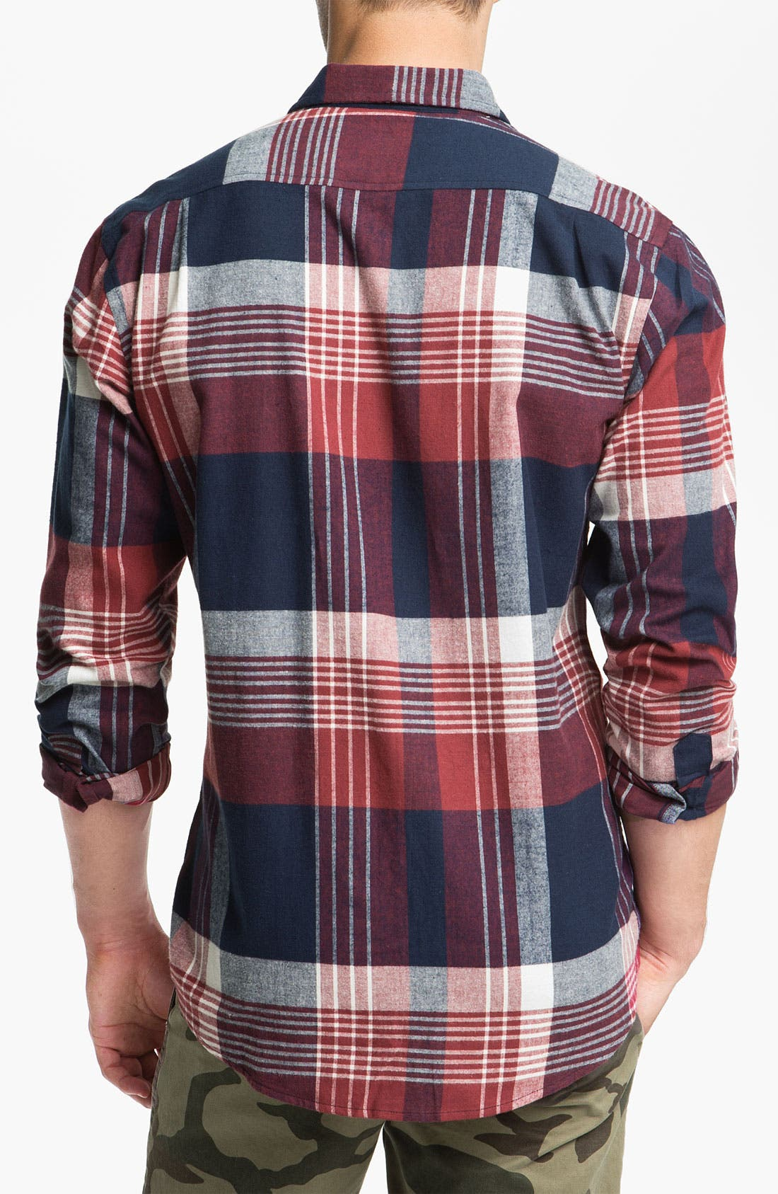 Alternate Image 2  - Ezekiel 'Lakeport' Plaid Flannel Shirt