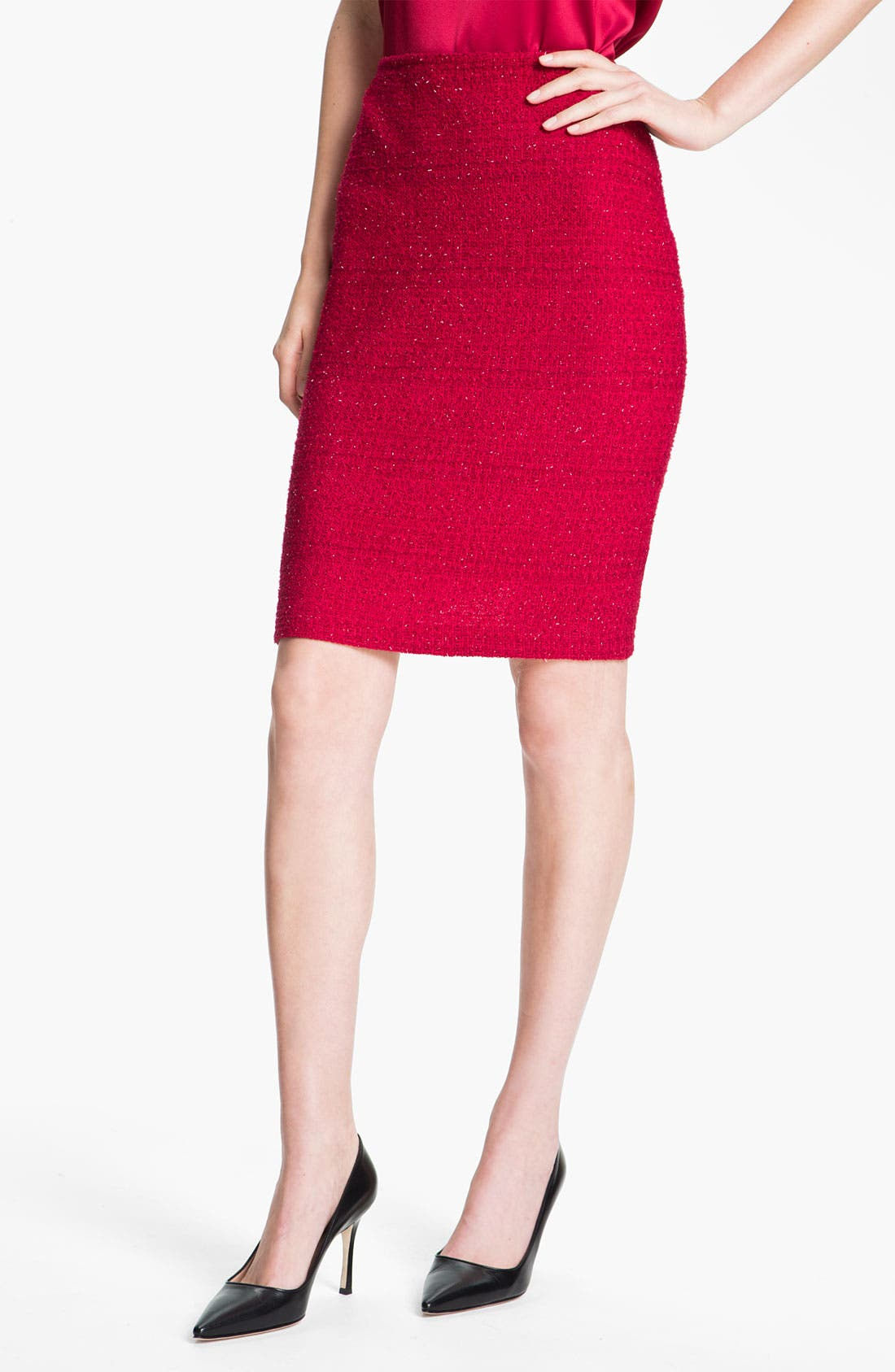 Alternate Image 1 Selected - St. John Collection 'Berry' Skirt