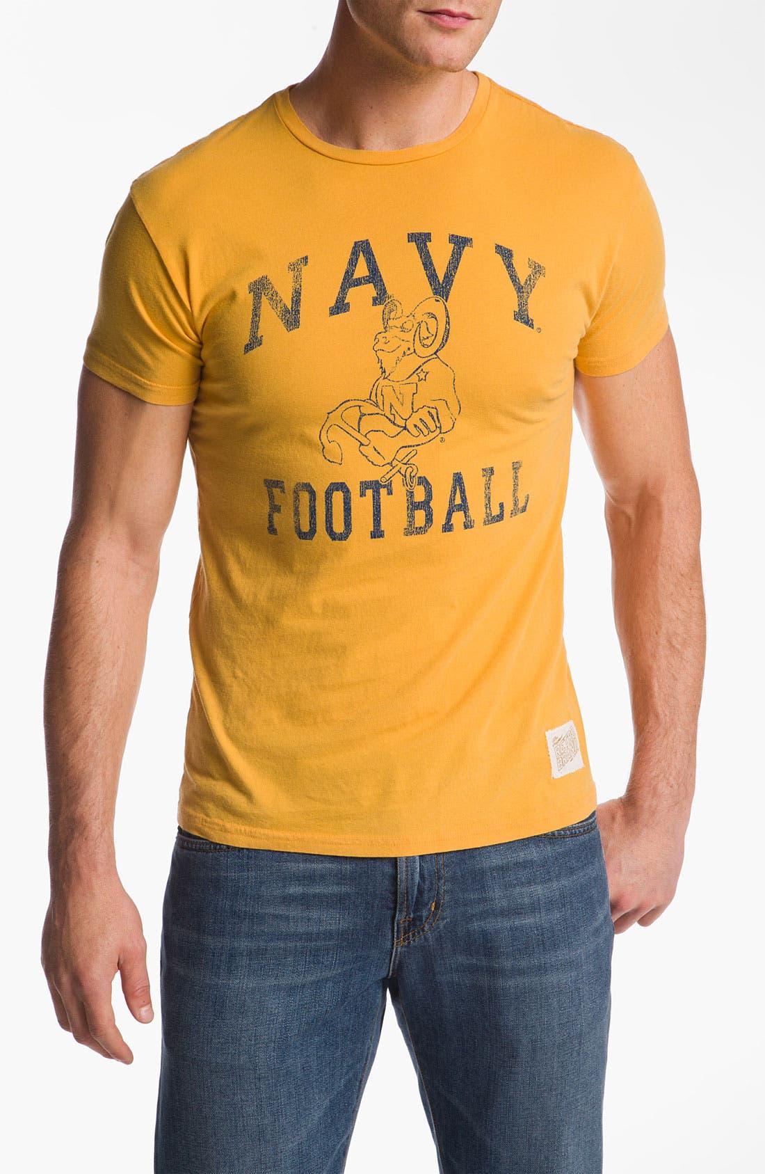 Main Image - The Original Retro Brand 'US Navy Midshipmen' T-Shirt