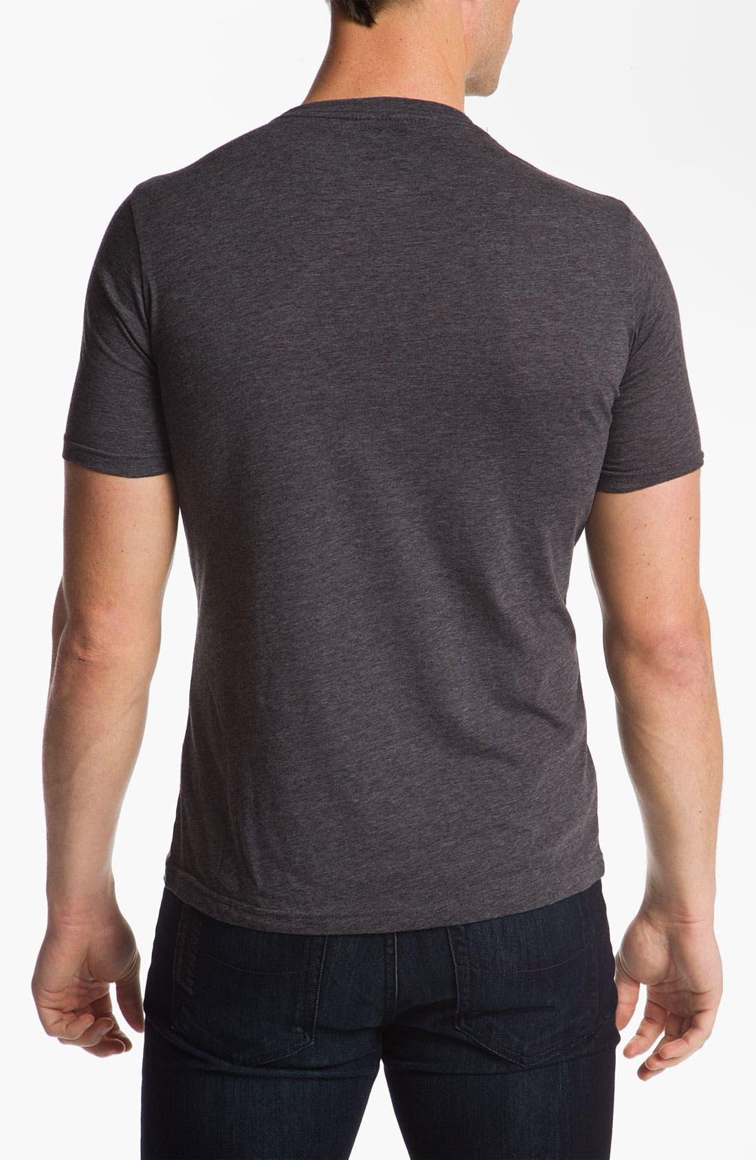 Alternate Image 2  - Free Authority 'NASA Man On Moon' Graphic T-Shirt