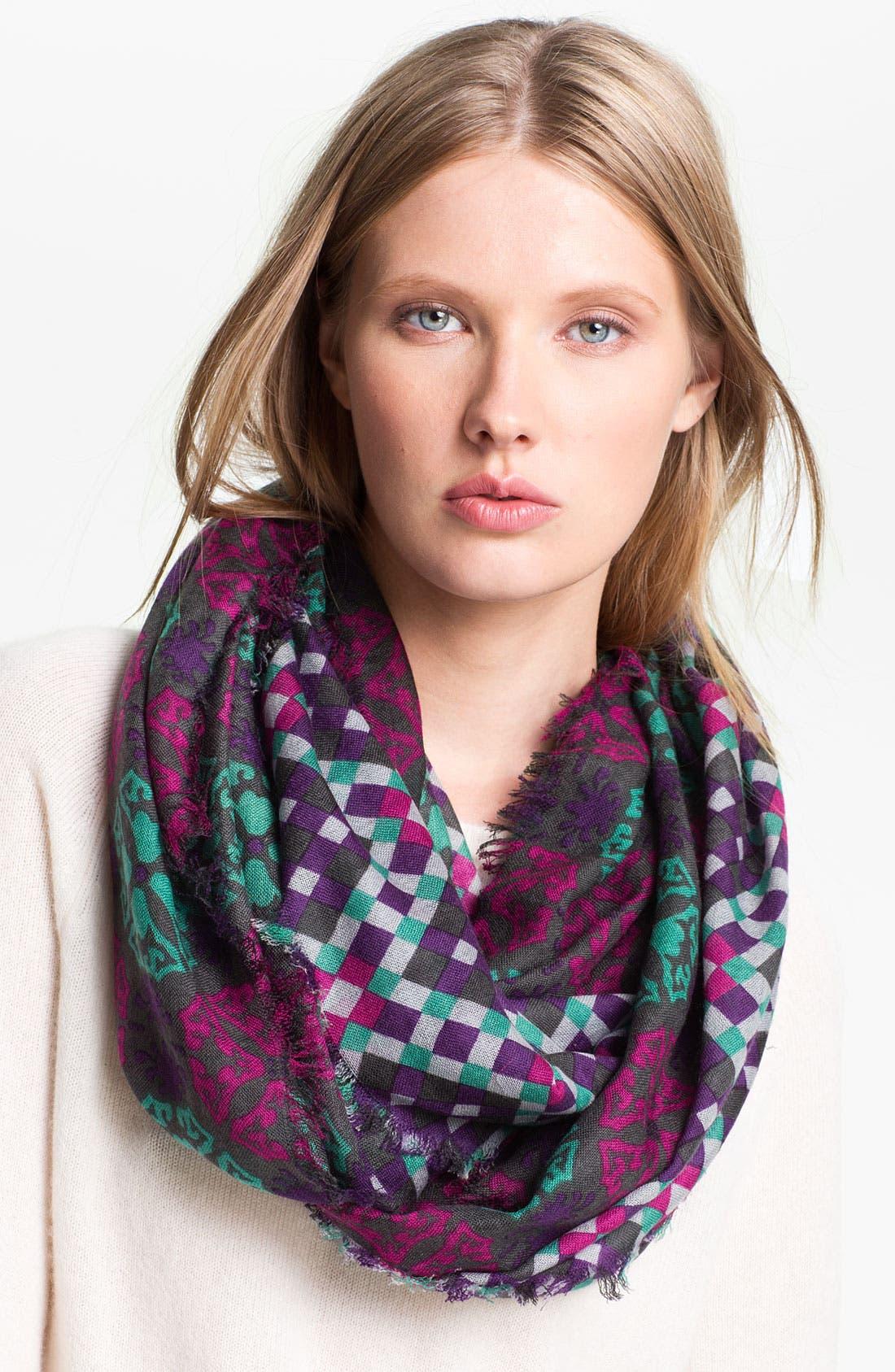 Alternate Image 1 Selected - Trouvé 'Optik Geo' Wool Scarf
