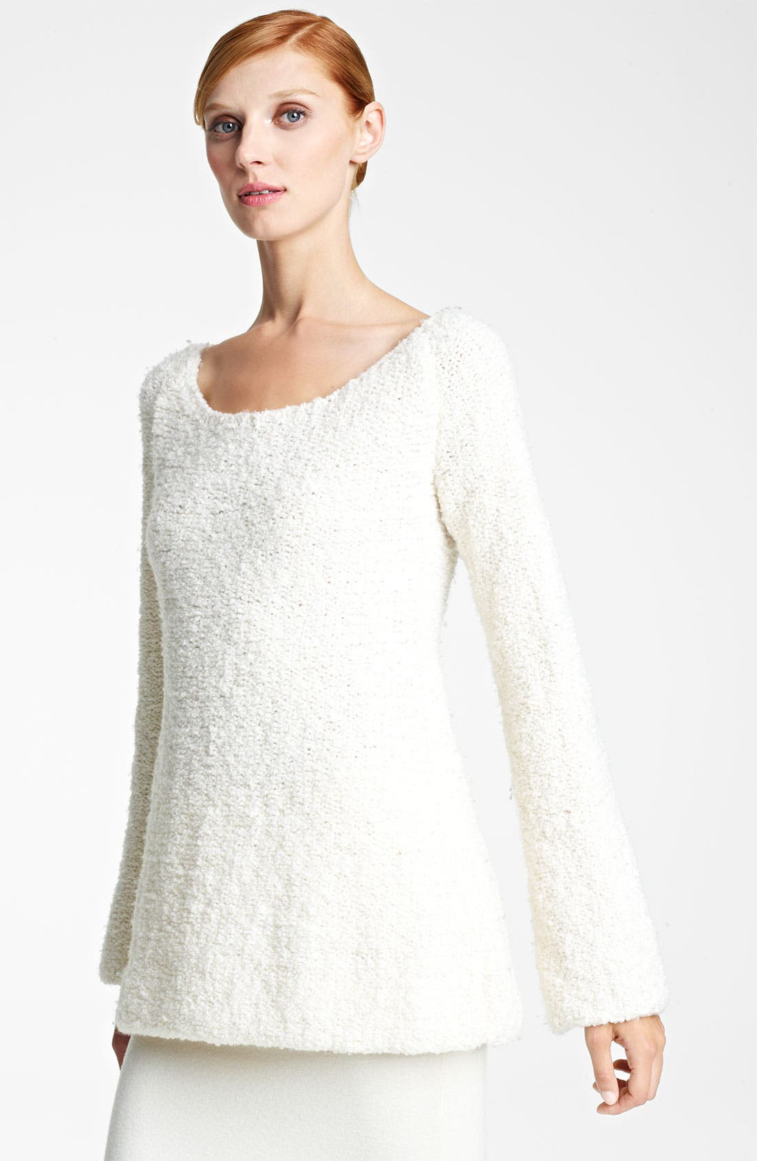 Alternate Image 1 Selected - Donna Karan Collection Bouclé Wool & Cashmere Sweater