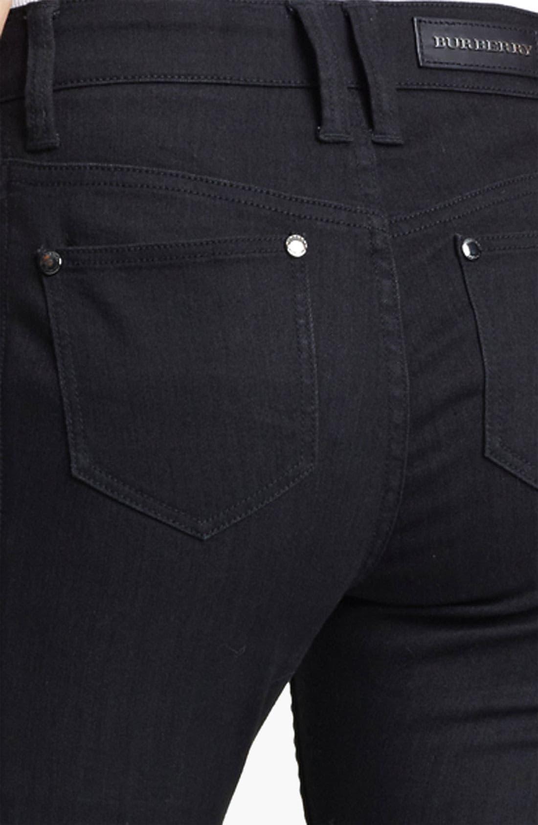 Alternate Image 3  - Burberry London Skinny Stretch Jeans