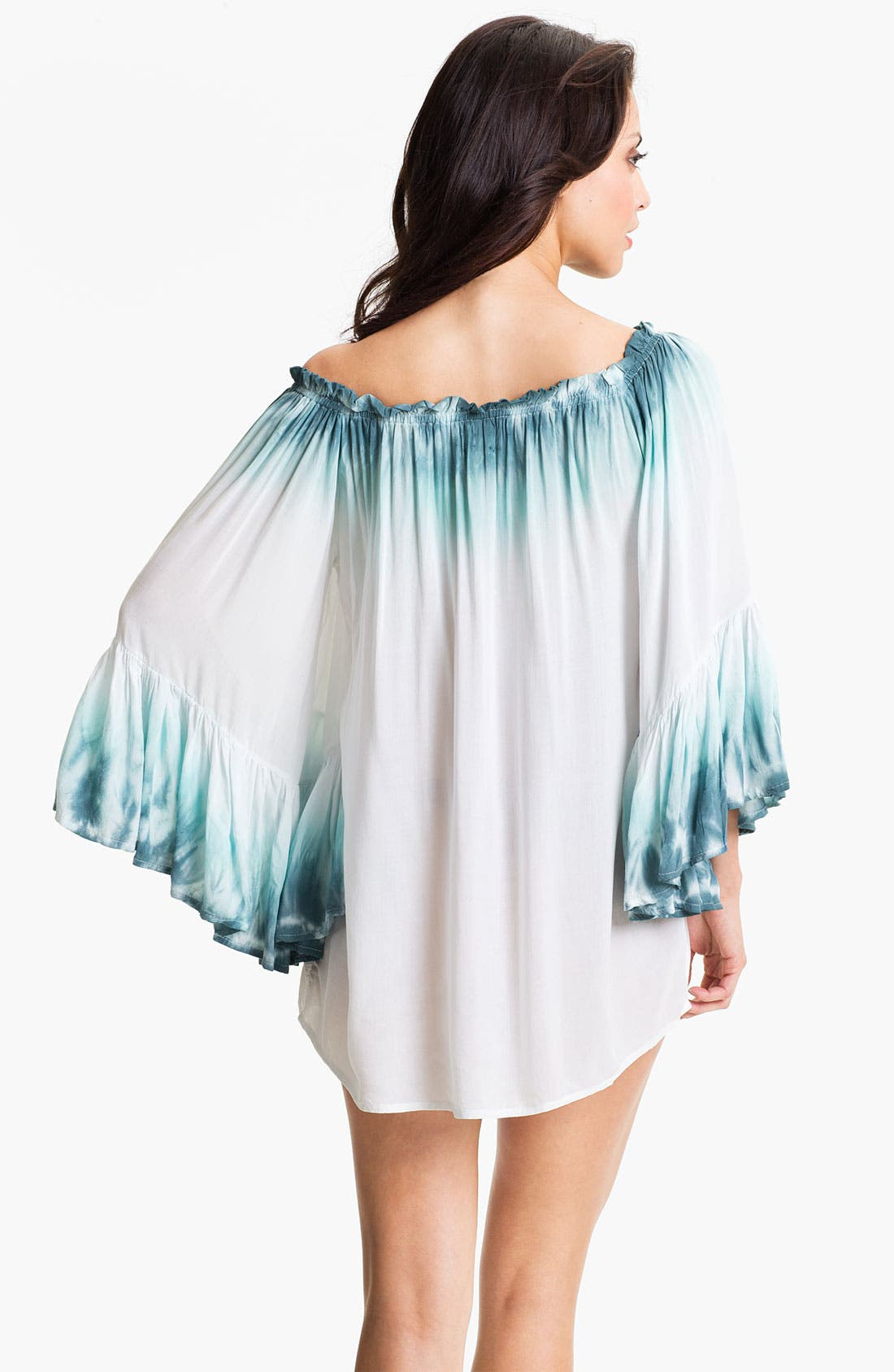 Alternate Image 2  - Elan Off Shoulder Tunic Cover Up