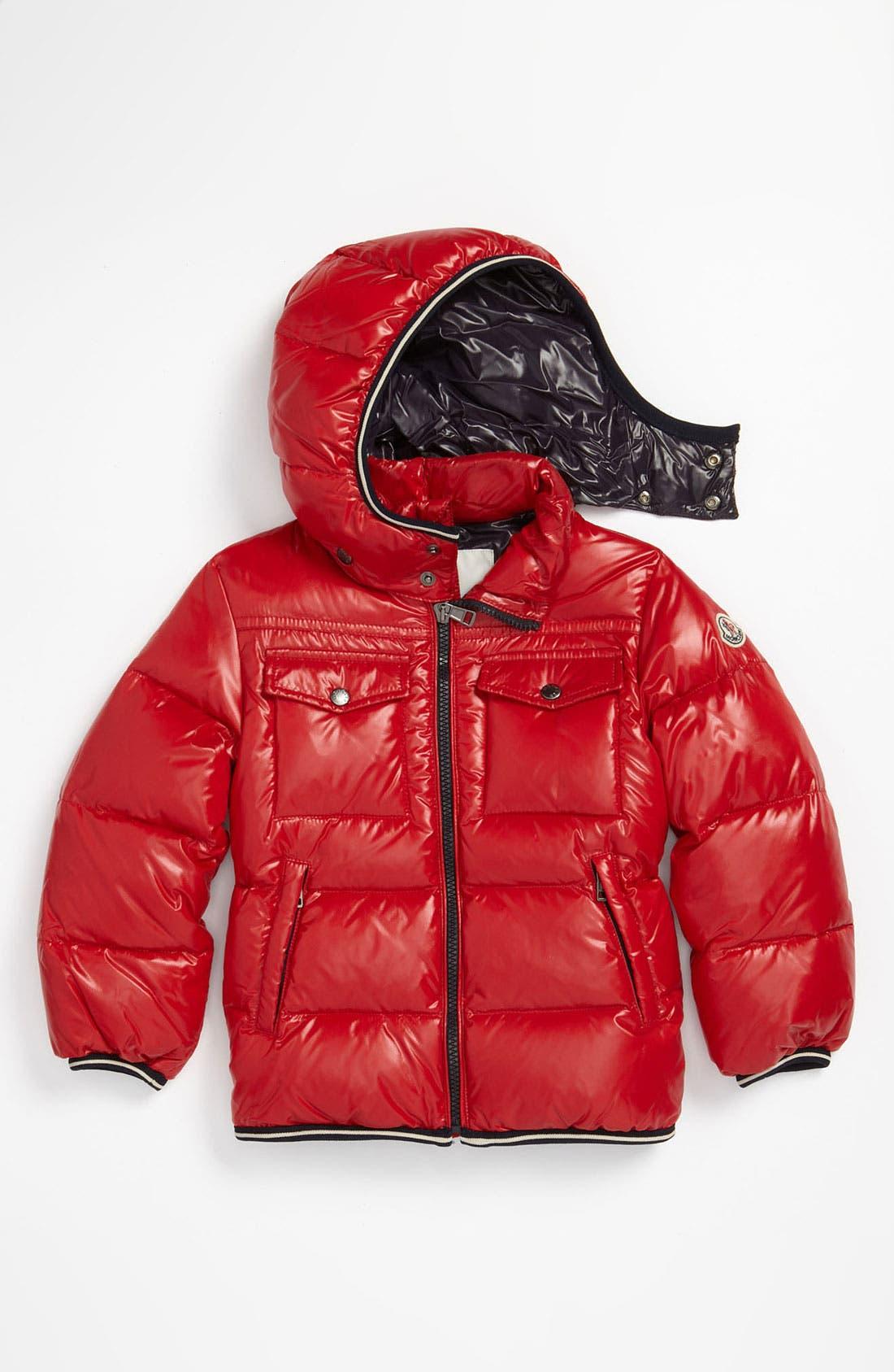 Main Image - Moncler Puffer Jacket (Toddler)