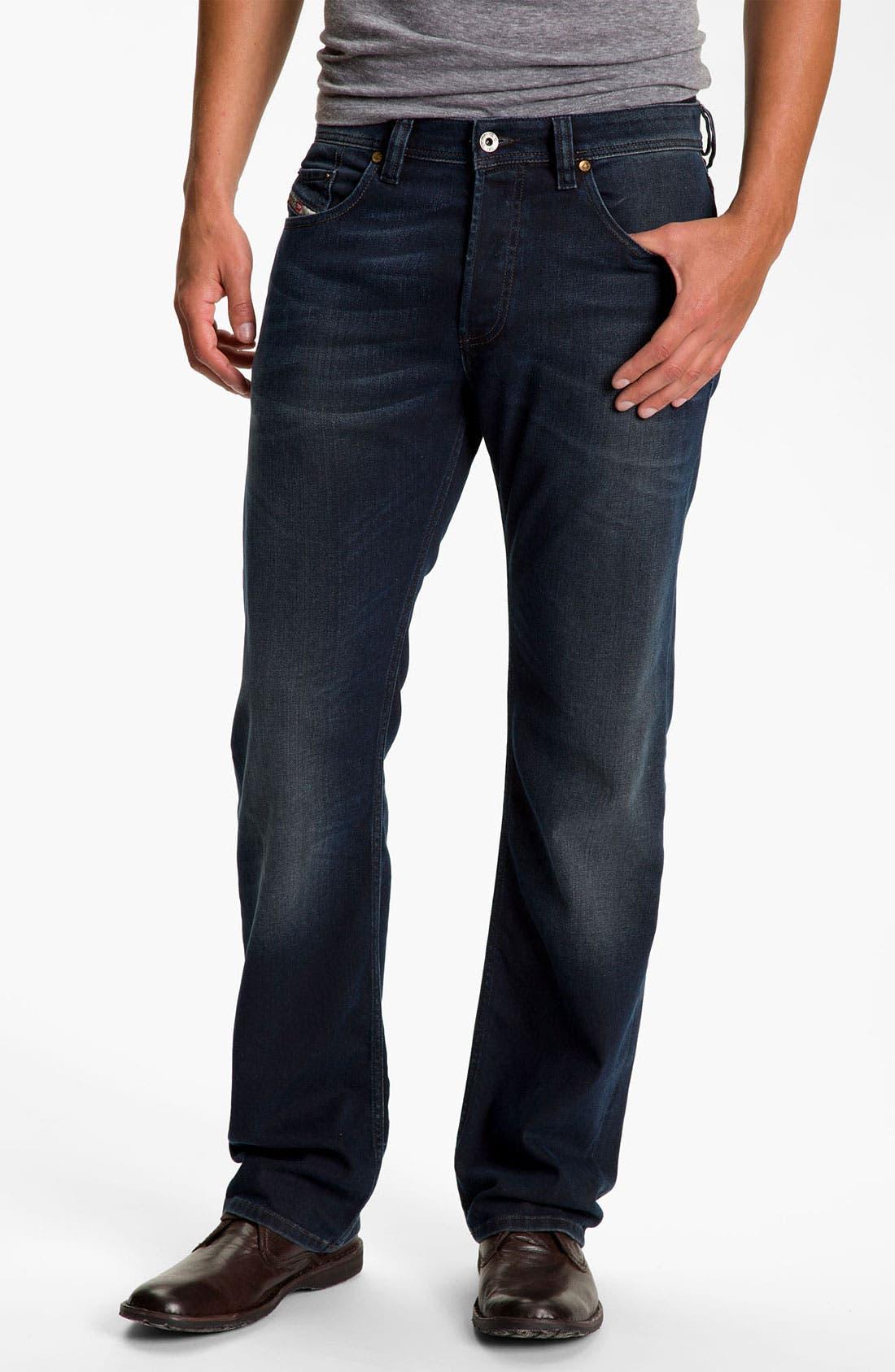 Alternate Image 2  - DIESEL® 'Larkee' Relaxed Straight Leg Jeans (882G)