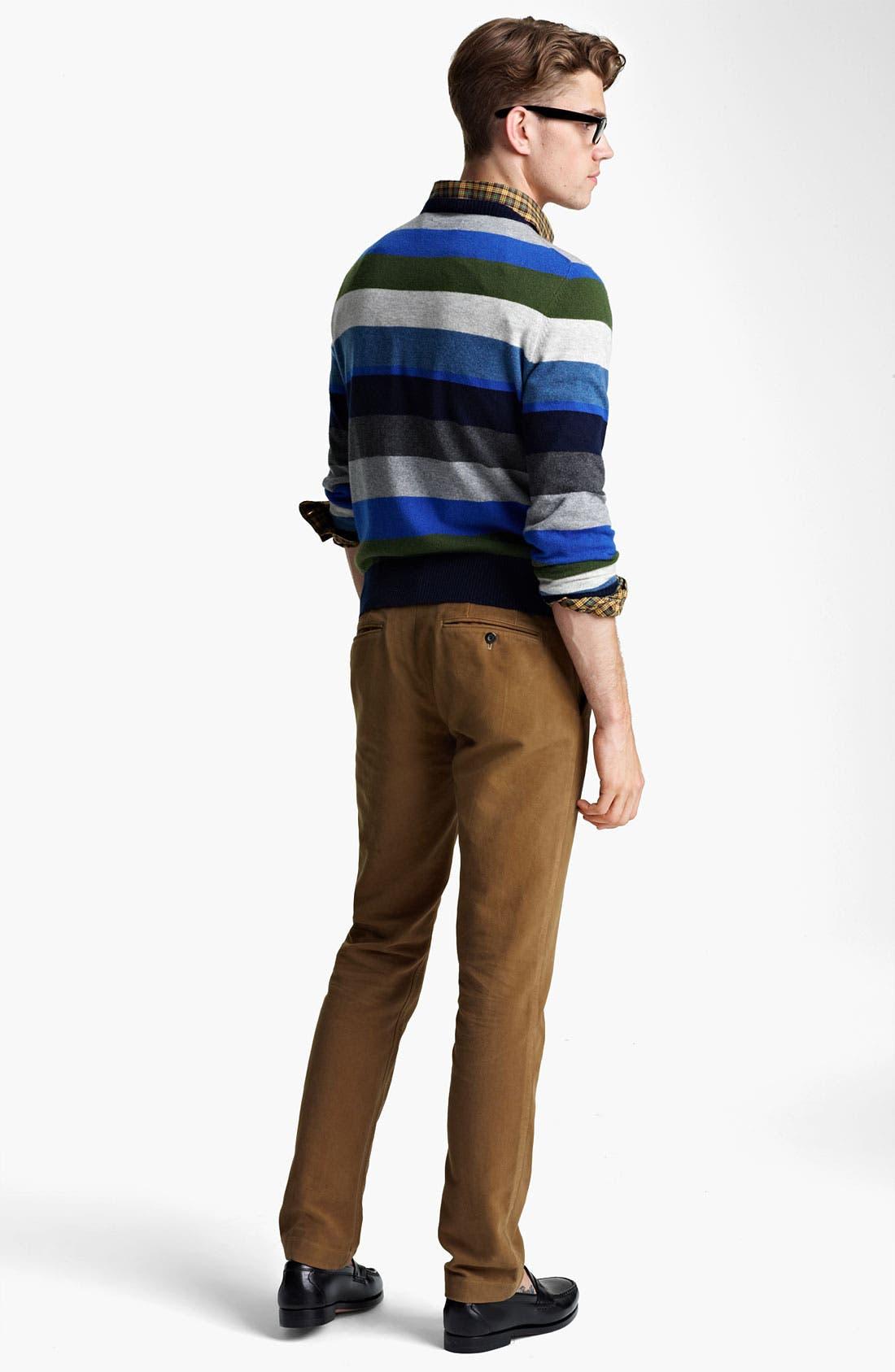 Alternate Image 5  - Jack Spade 'Page' Stripe Wool & Cashmere Sweater