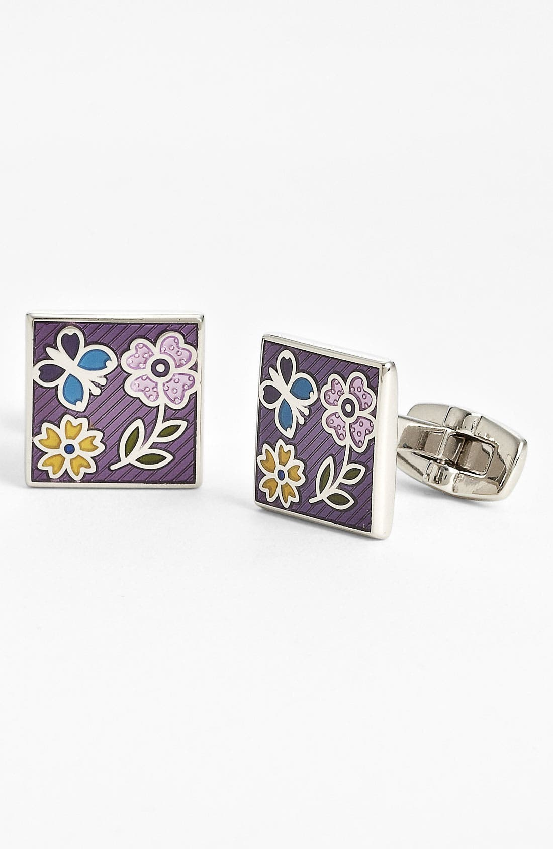 Alternate Image 1 Selected - Duchamp 'Garden Whimsy' Cuff Links