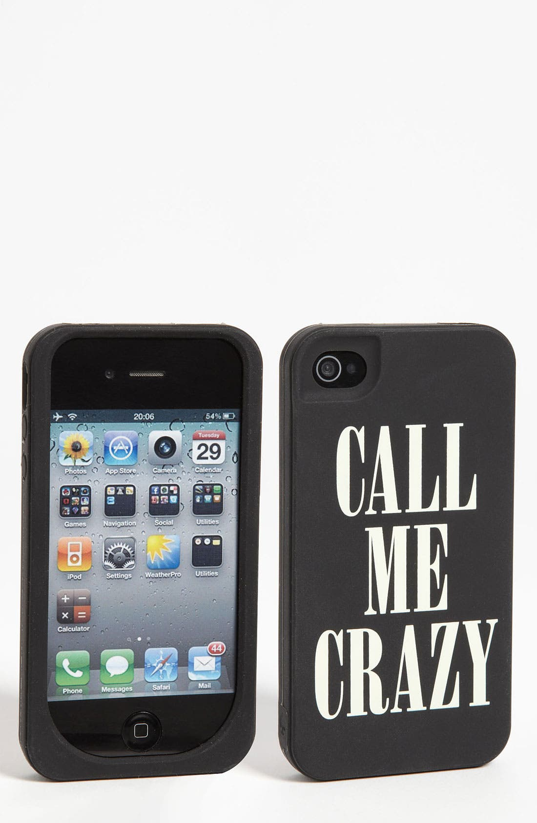 Main Image - kate spade new york 'call me crazy' iPhone 4 & 4S case