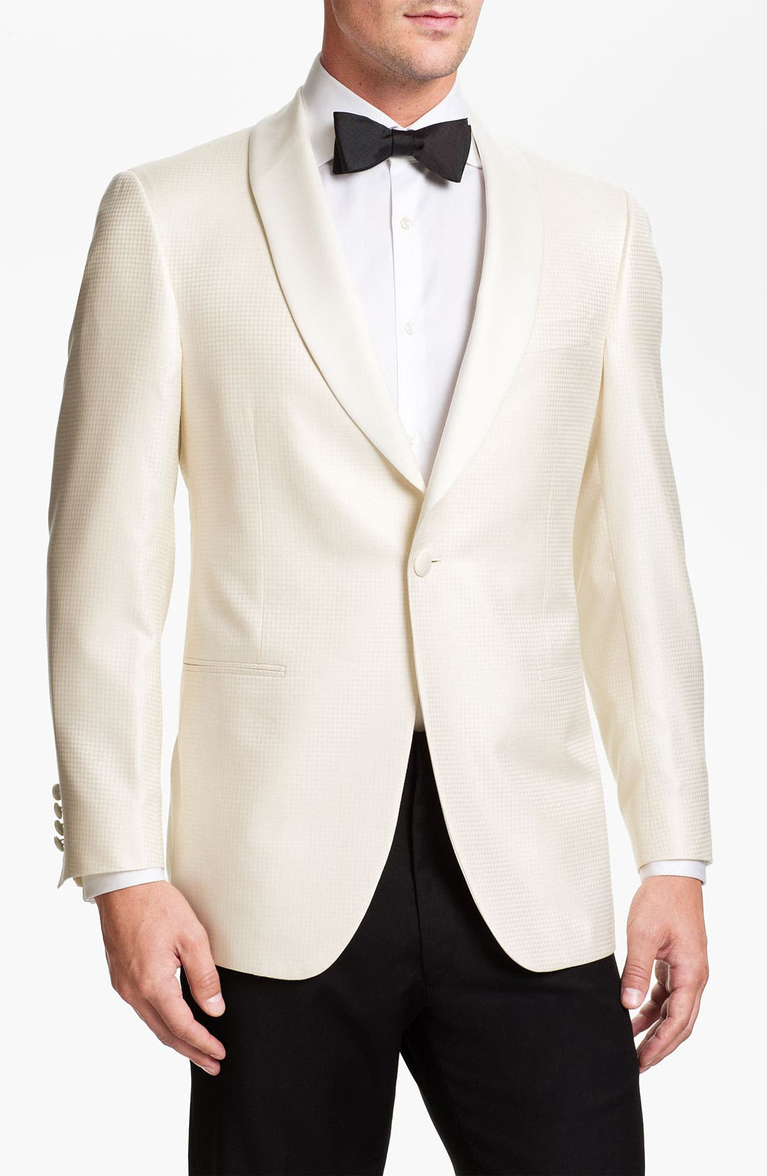 Alternate Image 1 Selected - Samuelsohn Jacquard Dinner Jacket