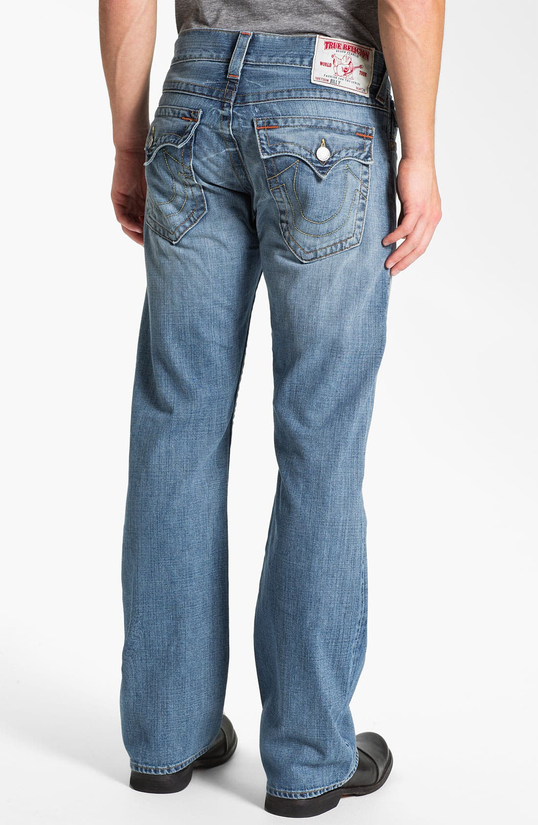 Alternate Image 1 Selected - True Religion Brand Jeans 'Billy' Bootcut Jeans (Vam Shade Horizon)