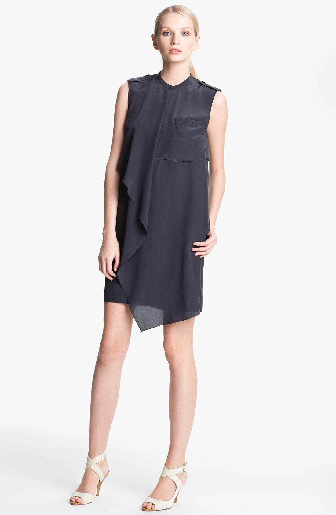 Alternate Image 1 Selected - 3.1 Phillip Lim Draped Silk Dress