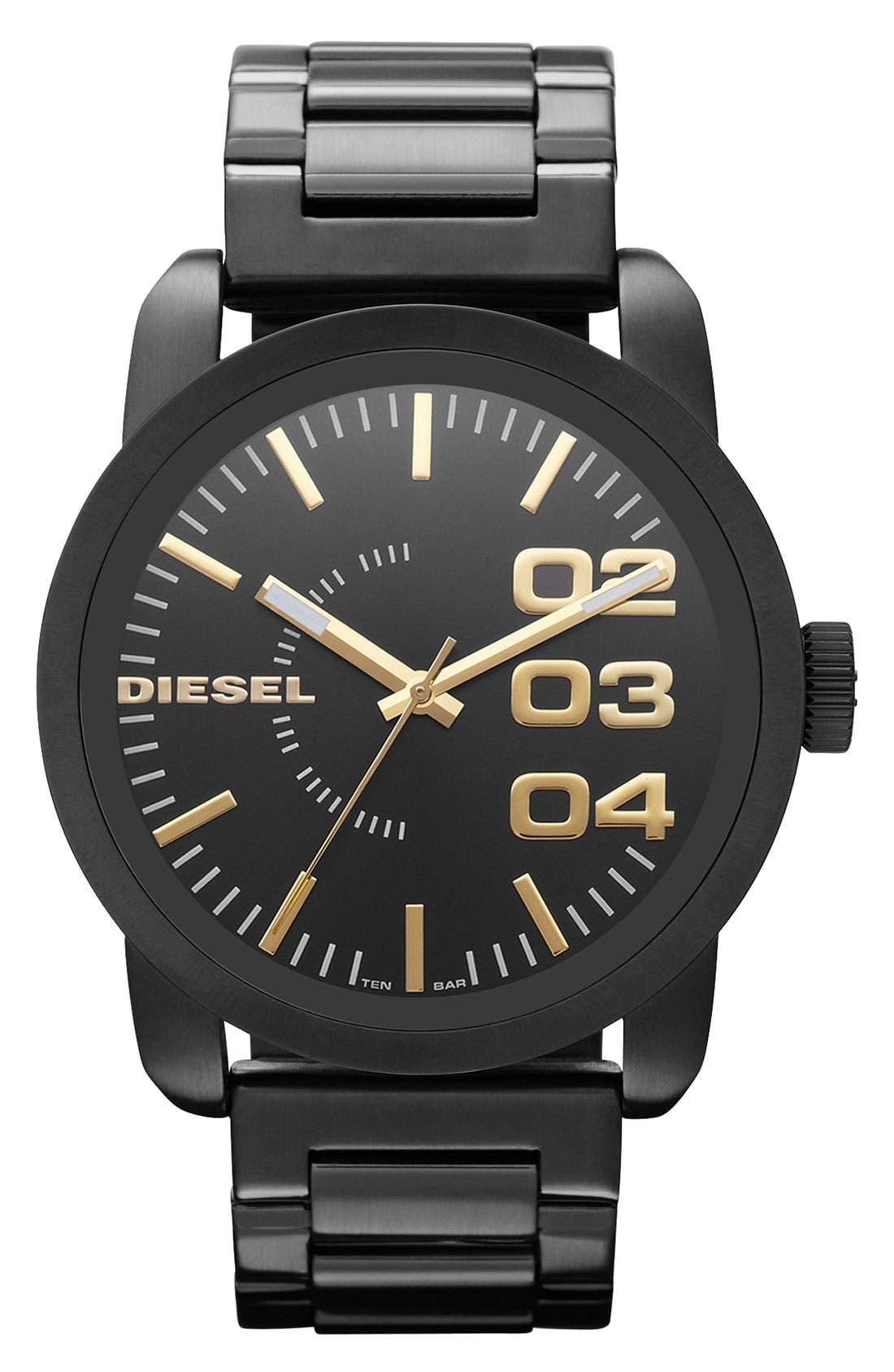 Alternate Image 1 Selected - DIESEL® Round Bracelet Watch