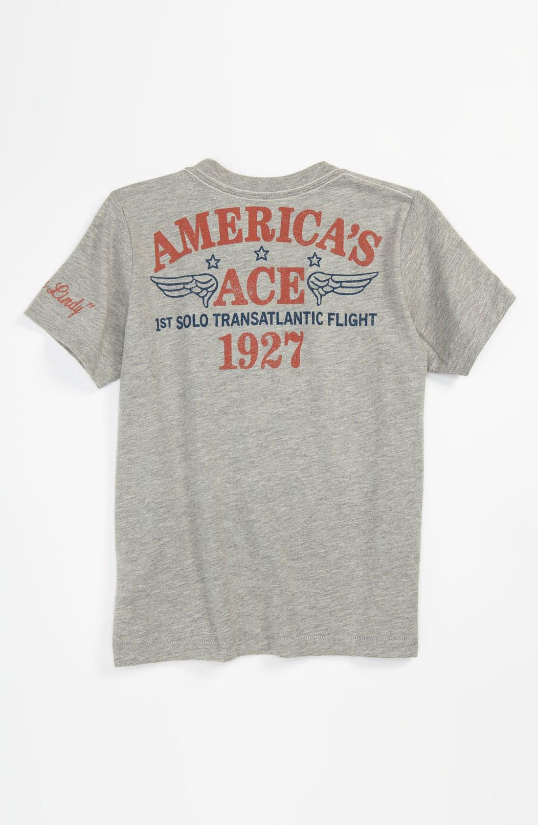 Alternate Image 2  - Peek 'Spirit of St. Louis' T-Shirt (Toddler, Little Boys & Big Boys)