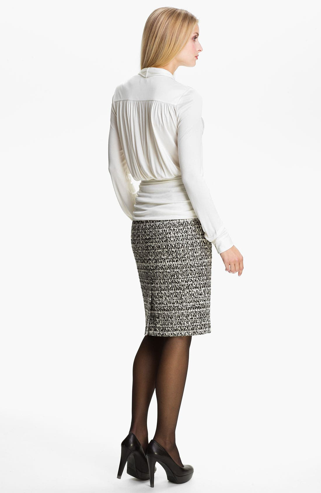 Alternate Image 5  - Classiques Entier® 'Roma' Tweed Skirt