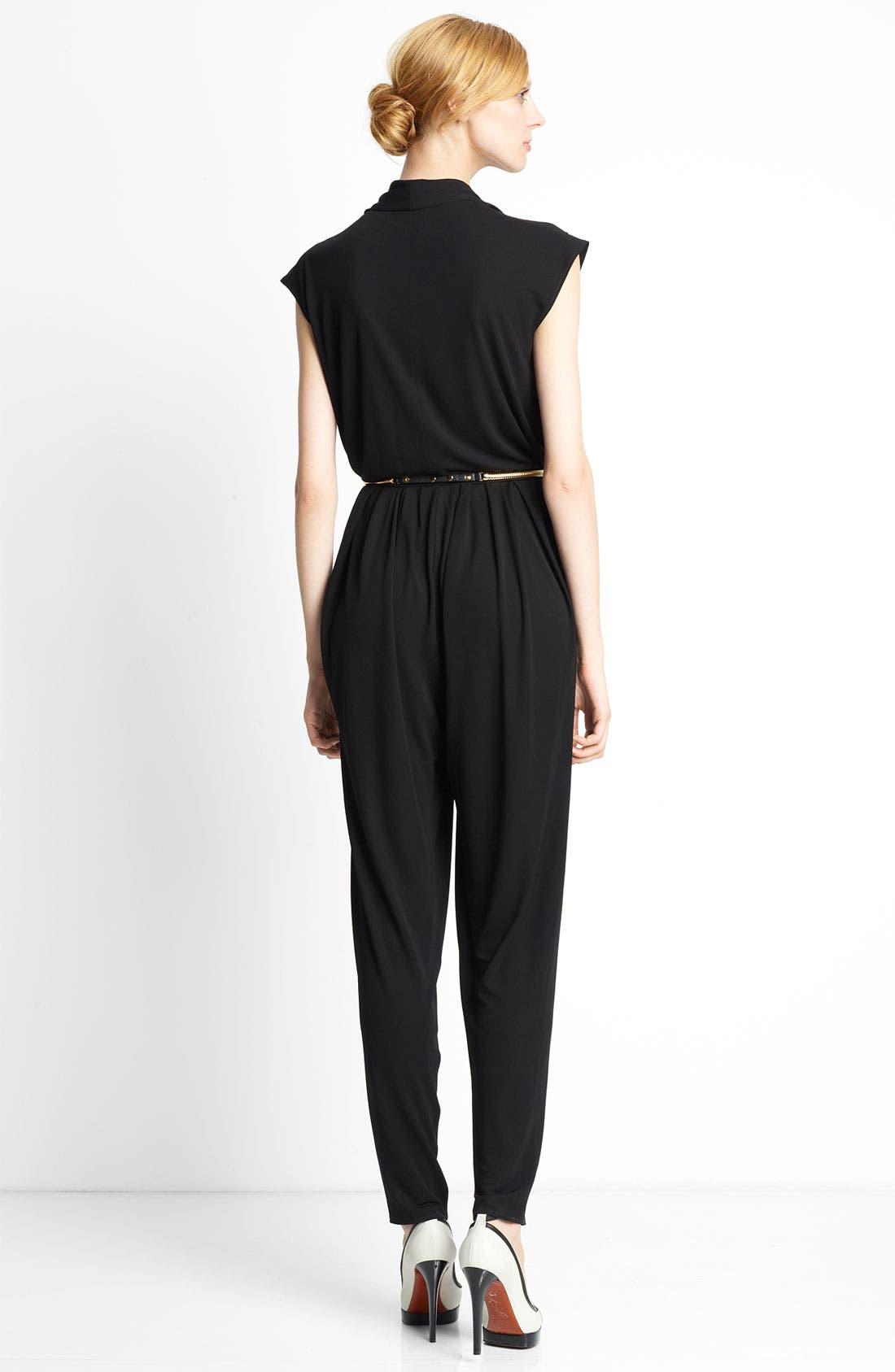 Alternate Image 2  - Lanvin Sleeveless Jersey Jumpsuit