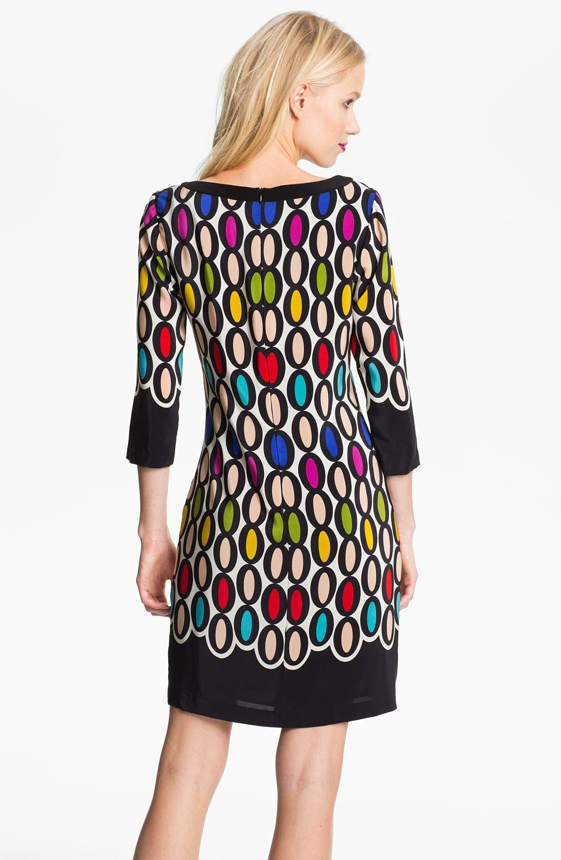 Alternate Image 2  - Trina Turk 'Ronson' Silk Shift Dress