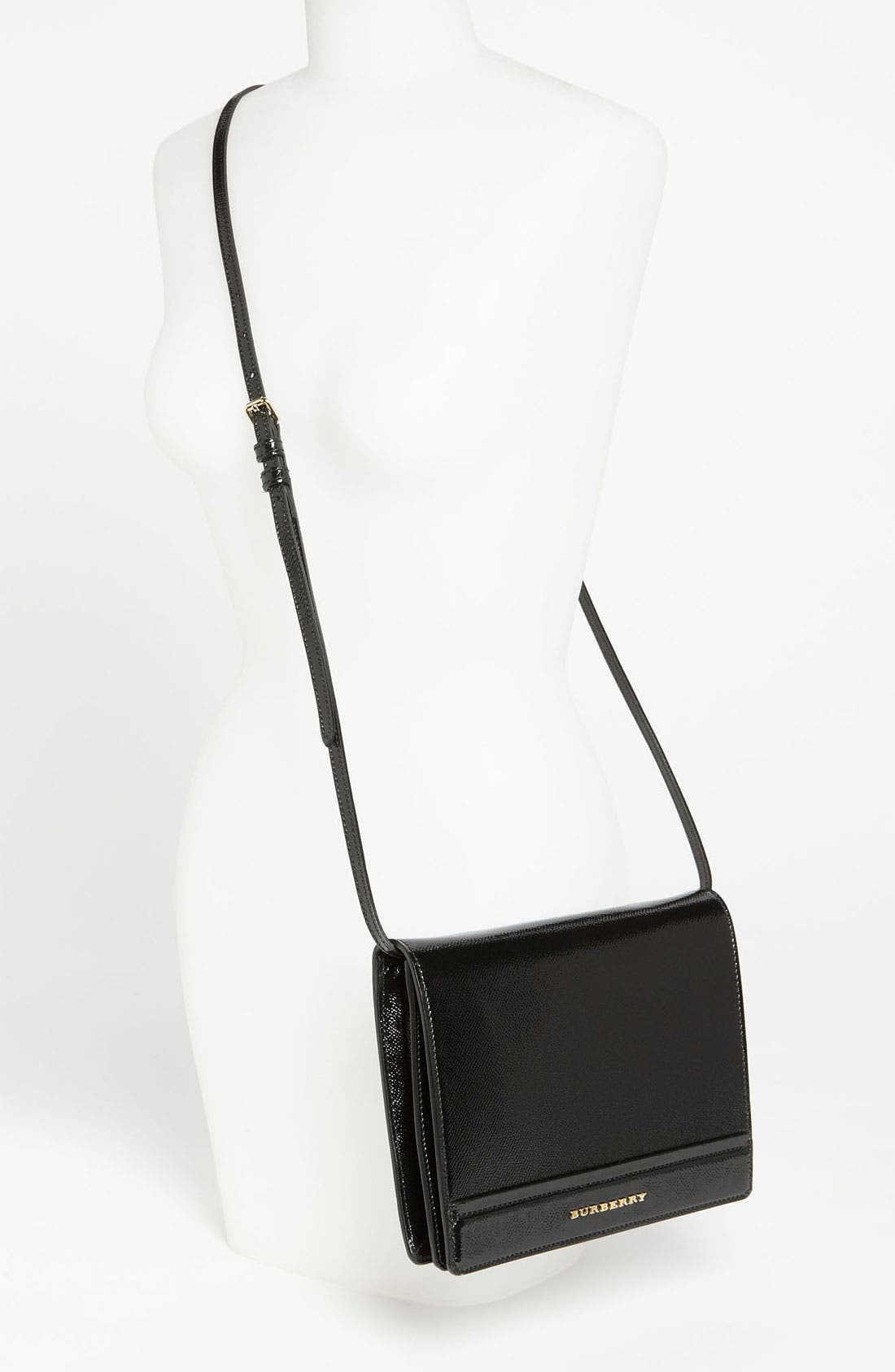 Alternate Image 2  - Burberry Patent Leather Crossbody Bag