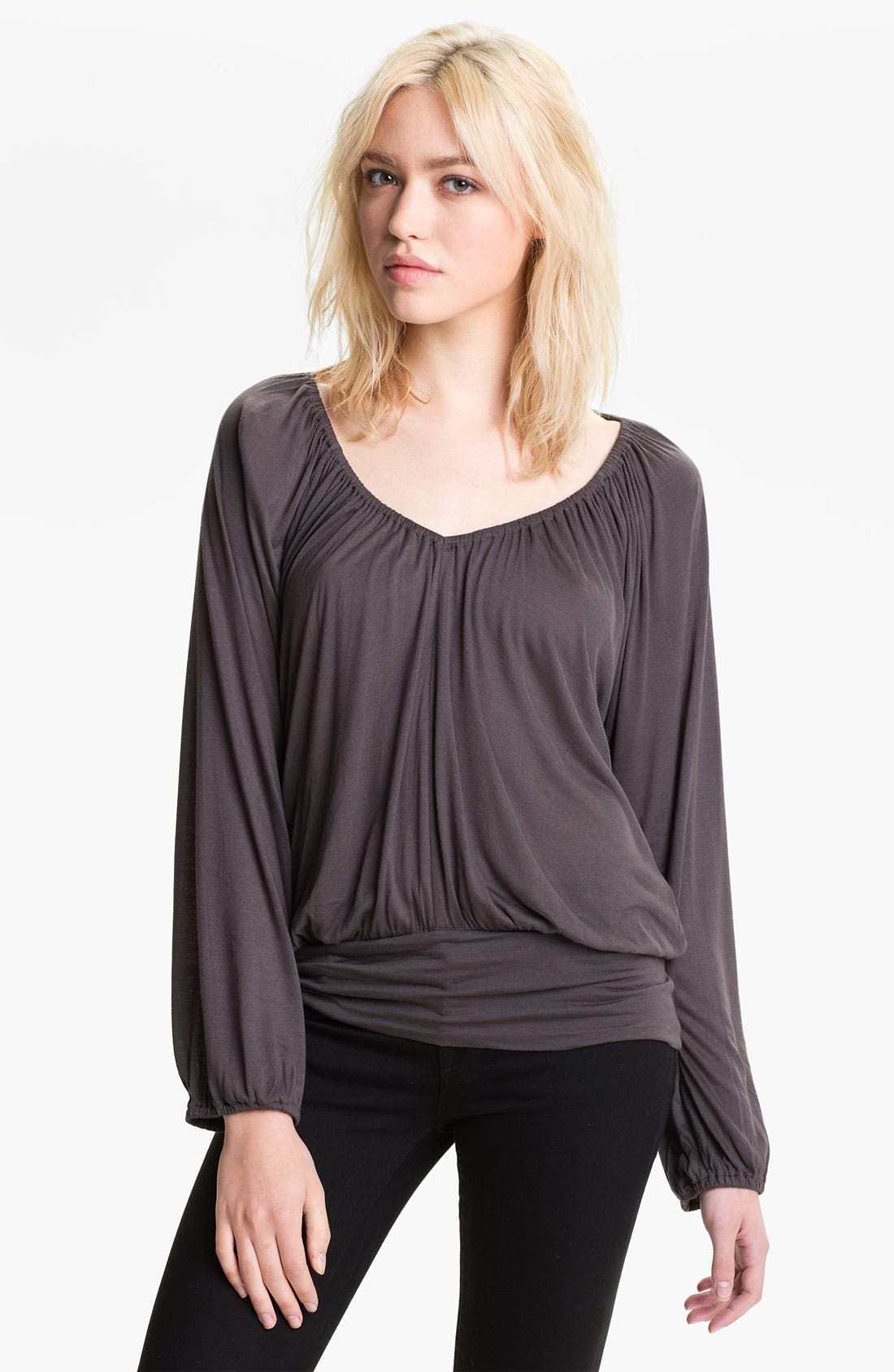 Main Image - Soft Joie 'Masumi' Gathered V-Neck Top