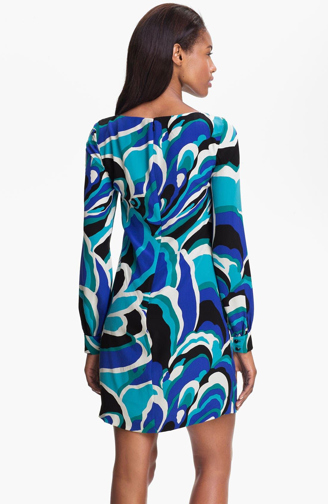 Alternate Image 2  - Trina Turk 'Elektra' Printed Silk Shift Dress