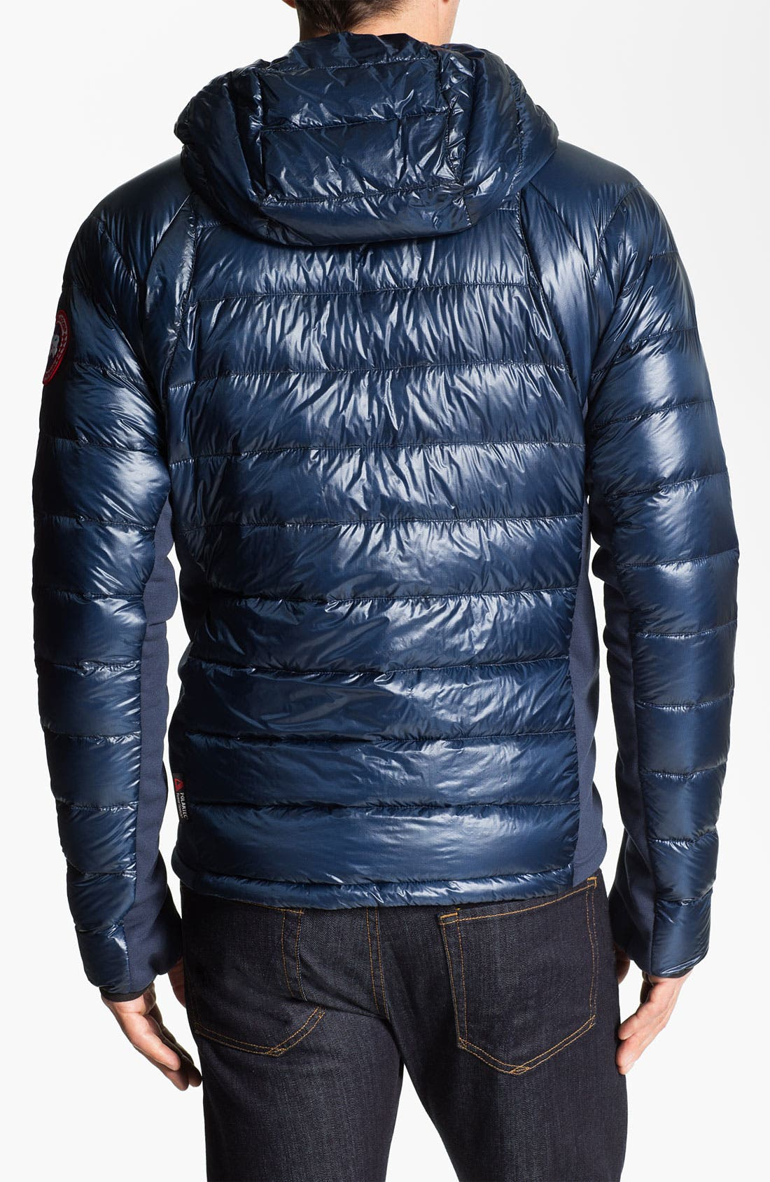 Alternate Image 2  - Canada Goose 'Hybridge' Quilted Goose Down Hooded Jacket